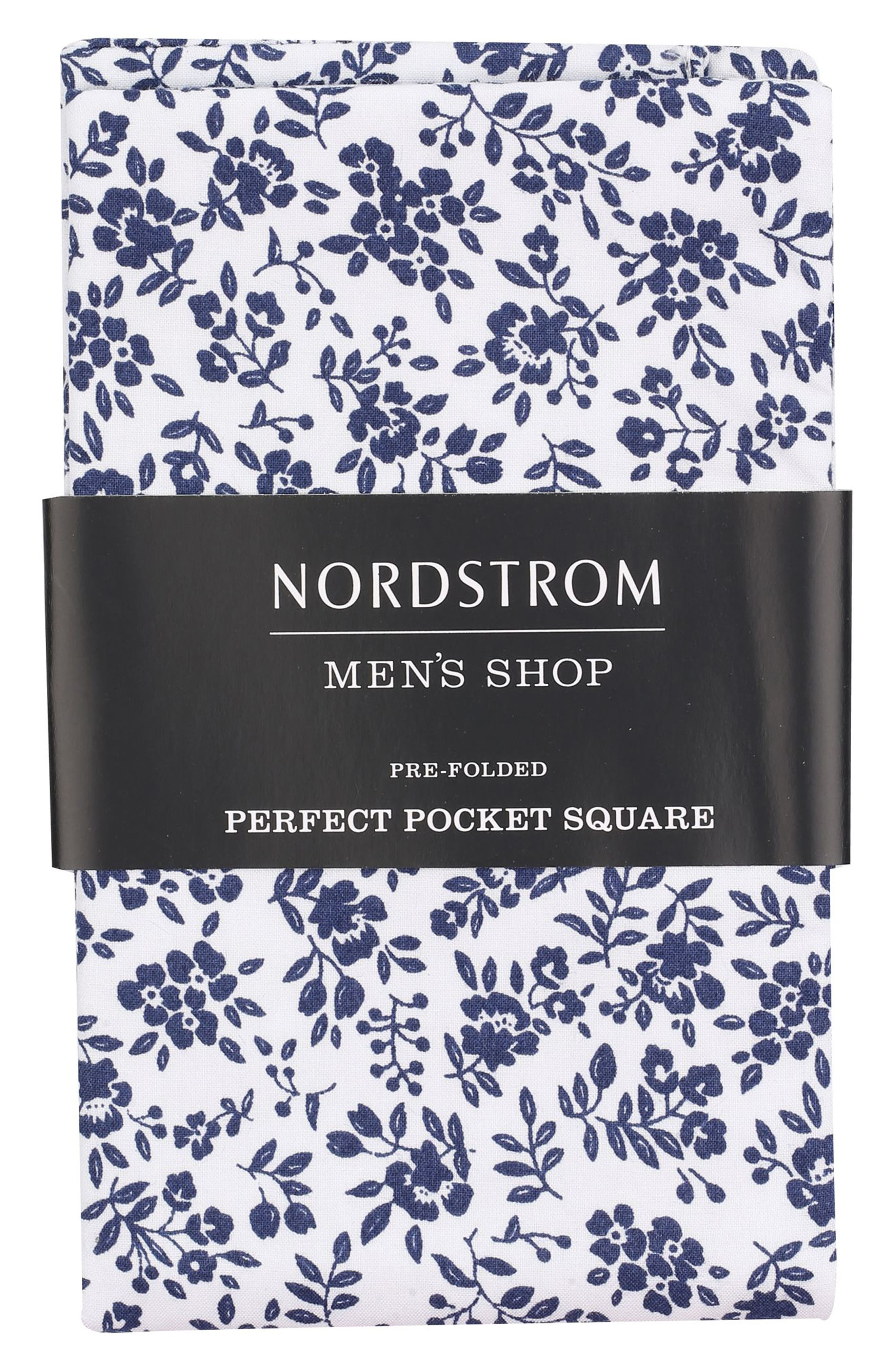 Alternate Image 1 Selected - Nordstrom Men's Shop The Perfect Pocket Square (3 for $49)