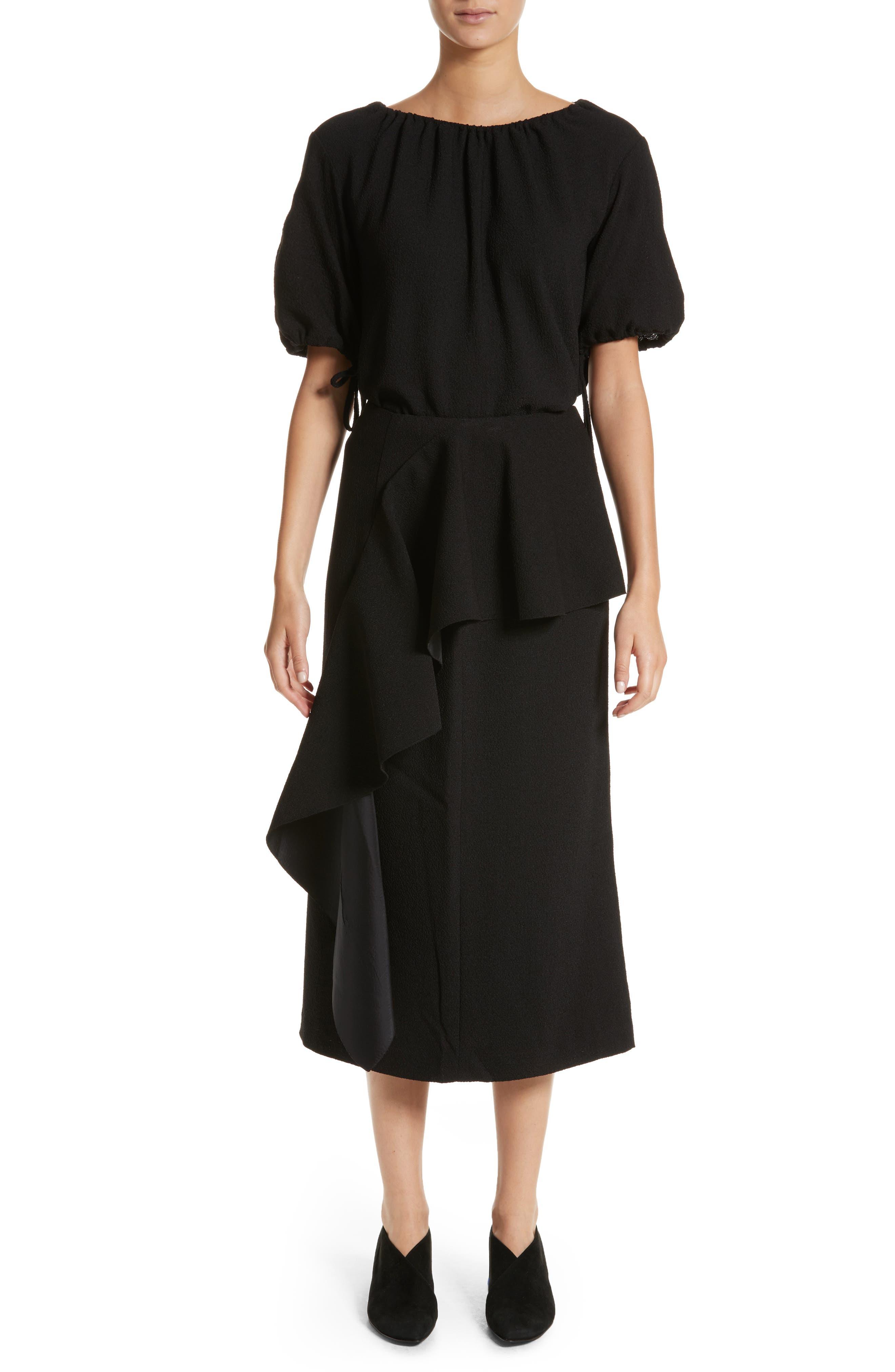 Alternate Image 6  - Rejina Pyo Maude Ruffle Panel Crepe Skirt (Nordstrom Exclusive)