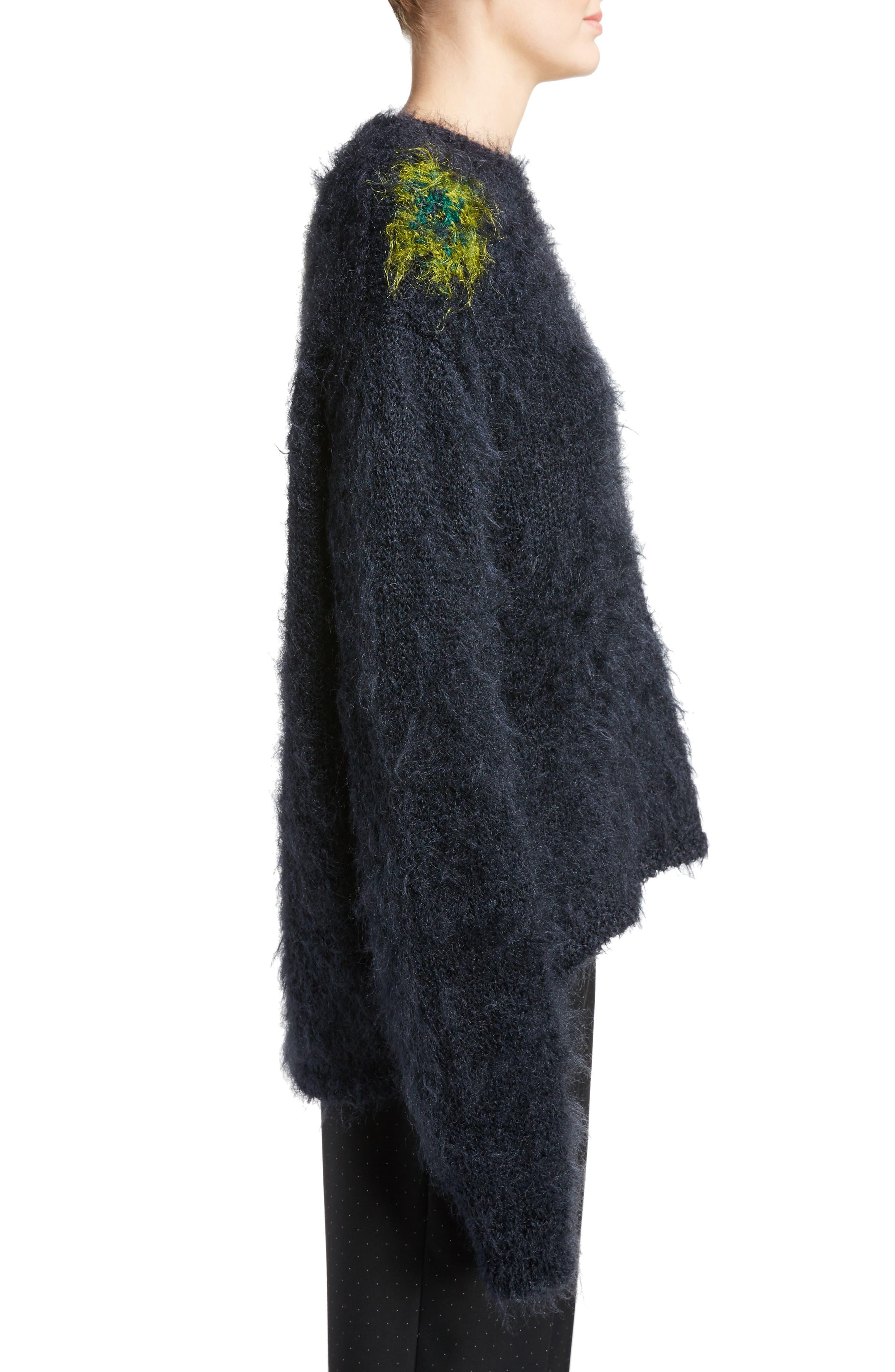 Alternate Image 3  - ACNE Studios Fhira Hairy Oversize Sweater
