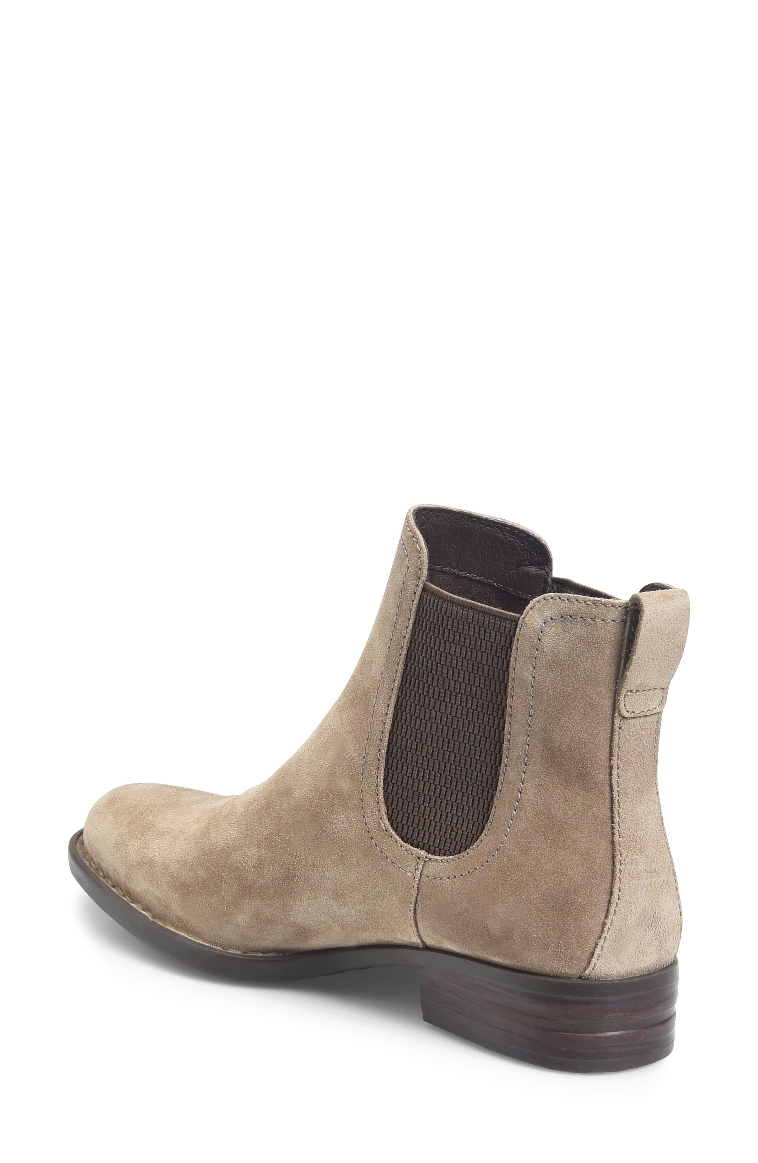Casco Chelsea Boot,                             Alternate thumbnail 2, color,                             Taupe Suede