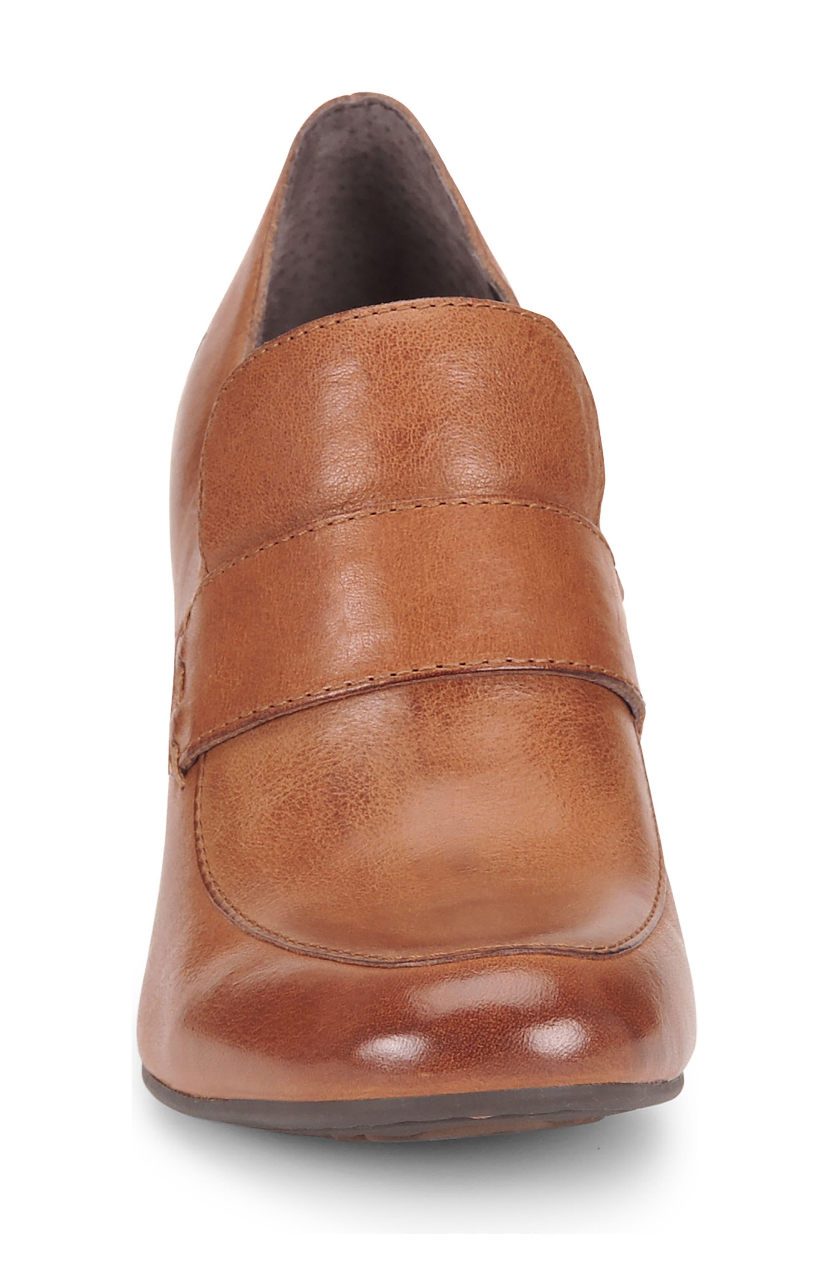 Mocho Pump,                             Alternate thumbnail 4, color,                             Tan Leather