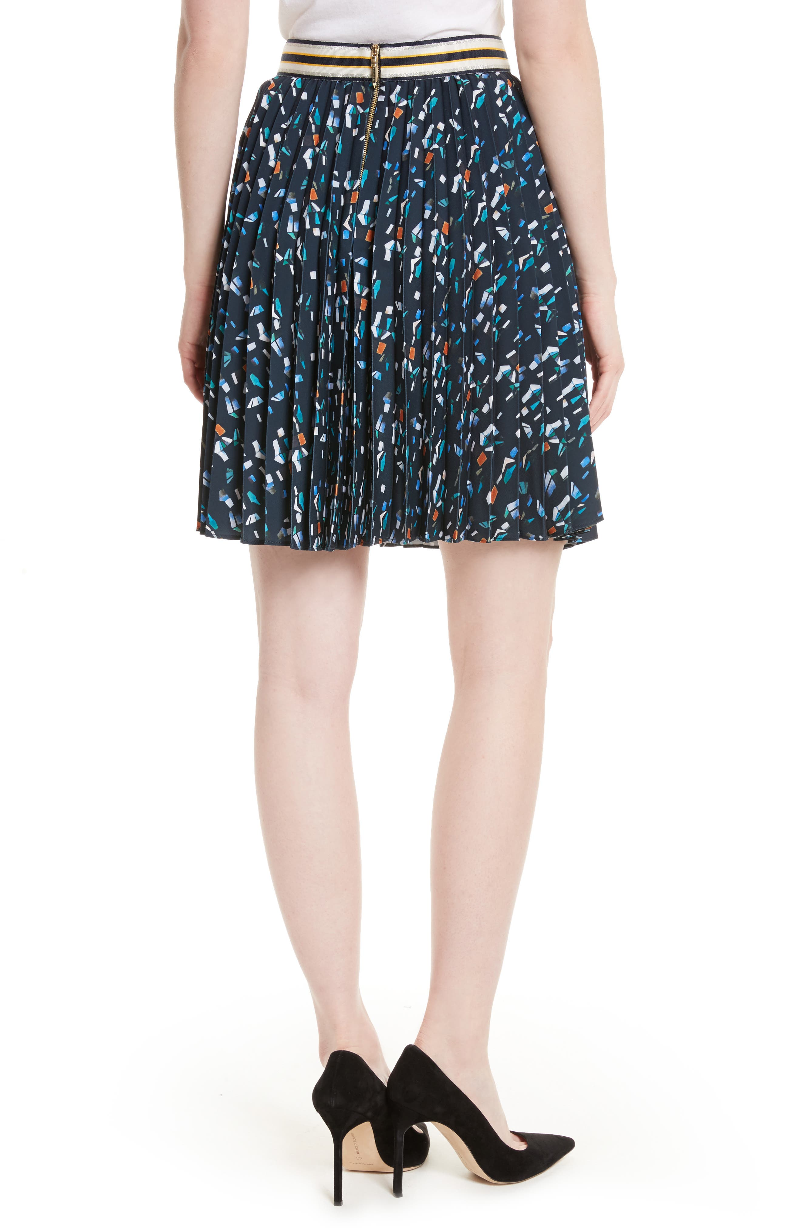 Alternate Image 2  - Ted Baker London Motrie Pleated Miniskirt