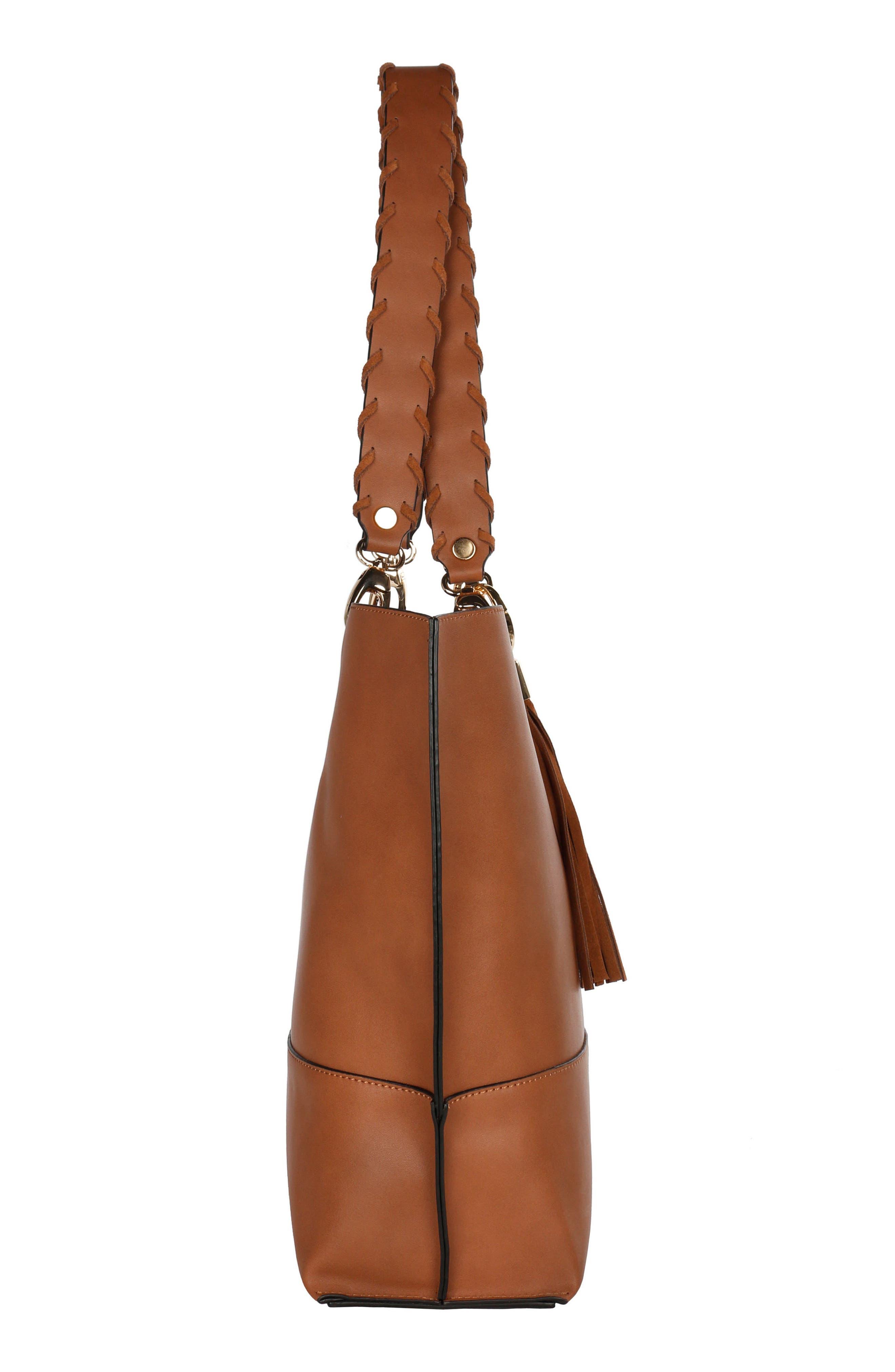 Alternate Image 4  - Céline Dion Espressivo Faux Leather Tote