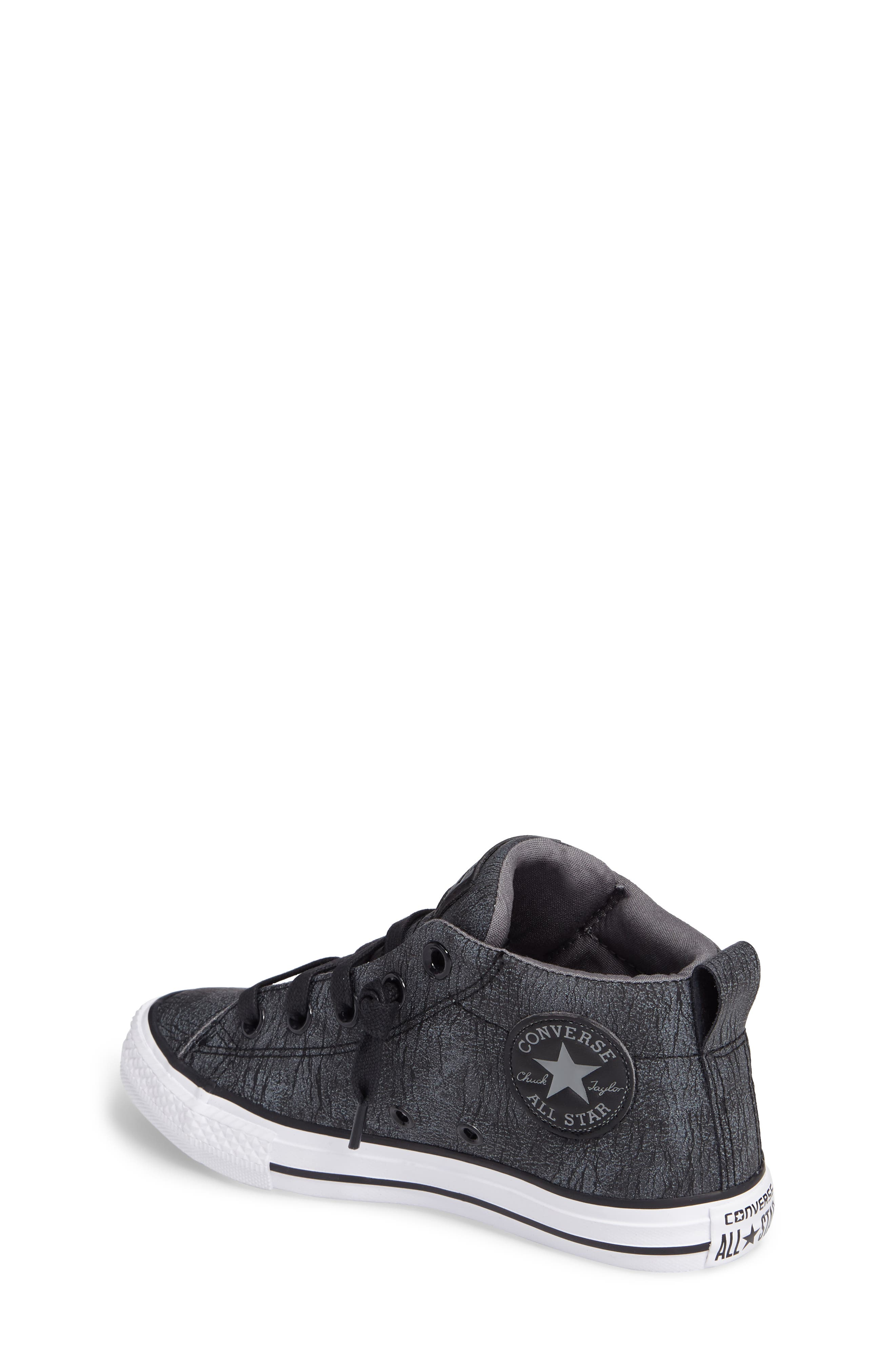 Alternate Image 2  - Converse Chuck Taylor® All Star® Street Mid Top Sneaker (Baby, Walker, Toddler, Little Kid & Big Kid)