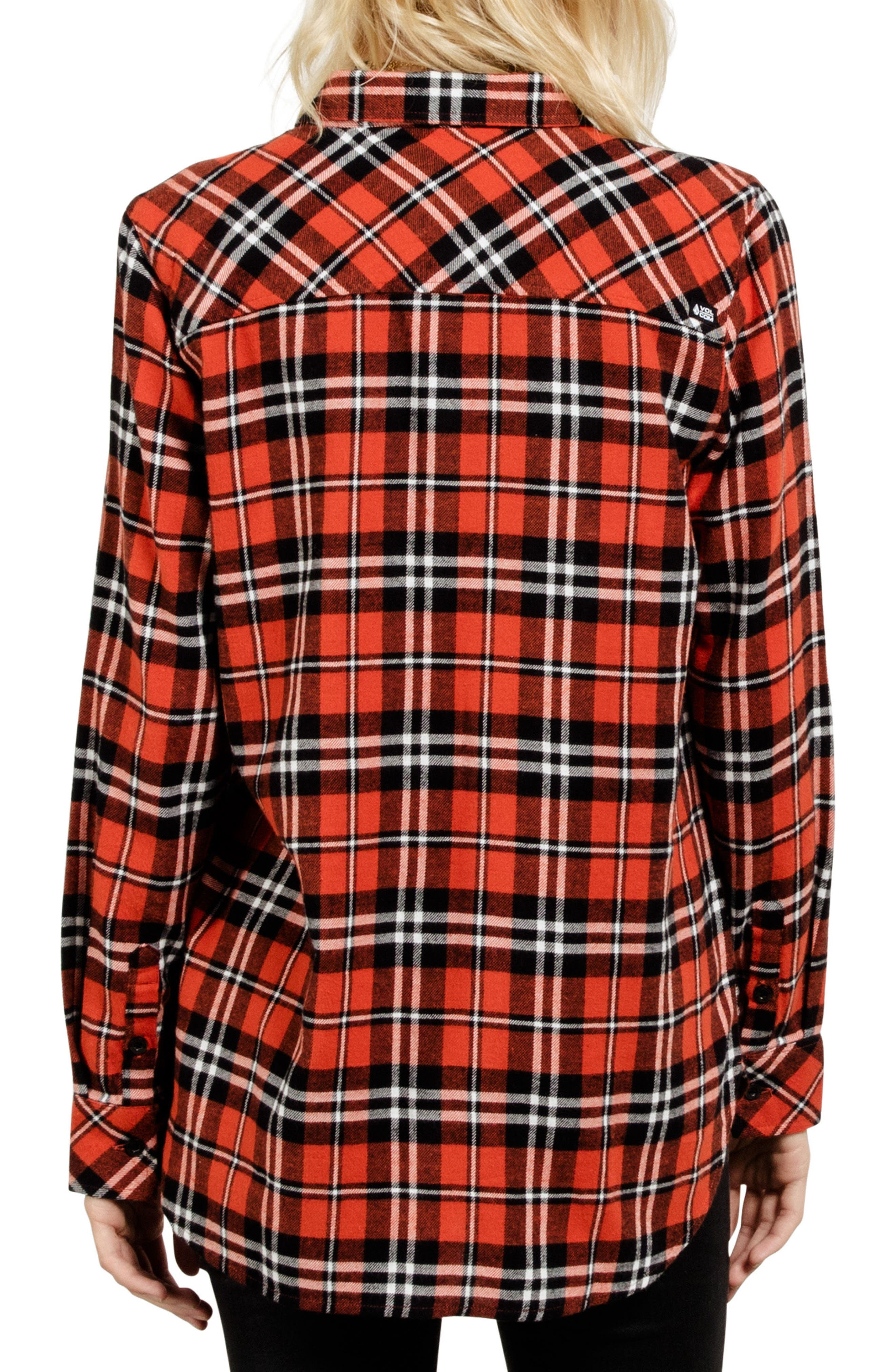 Alternate Image 2  - Volcom Fly High Flannel Top
