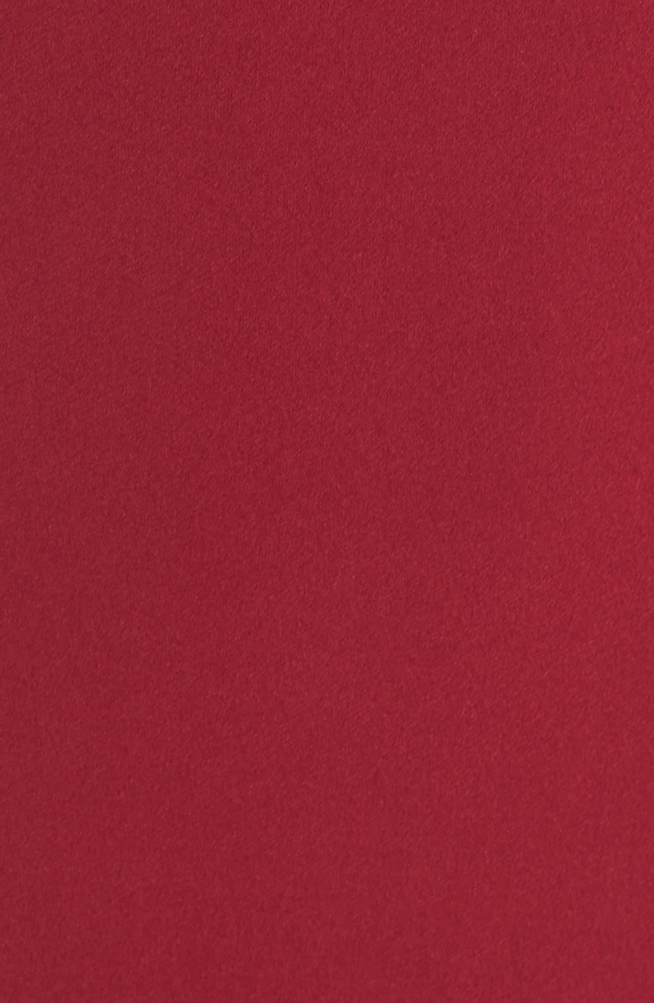 Starlett Gown,                             Alternate thumbnail 5, color,                             Wine