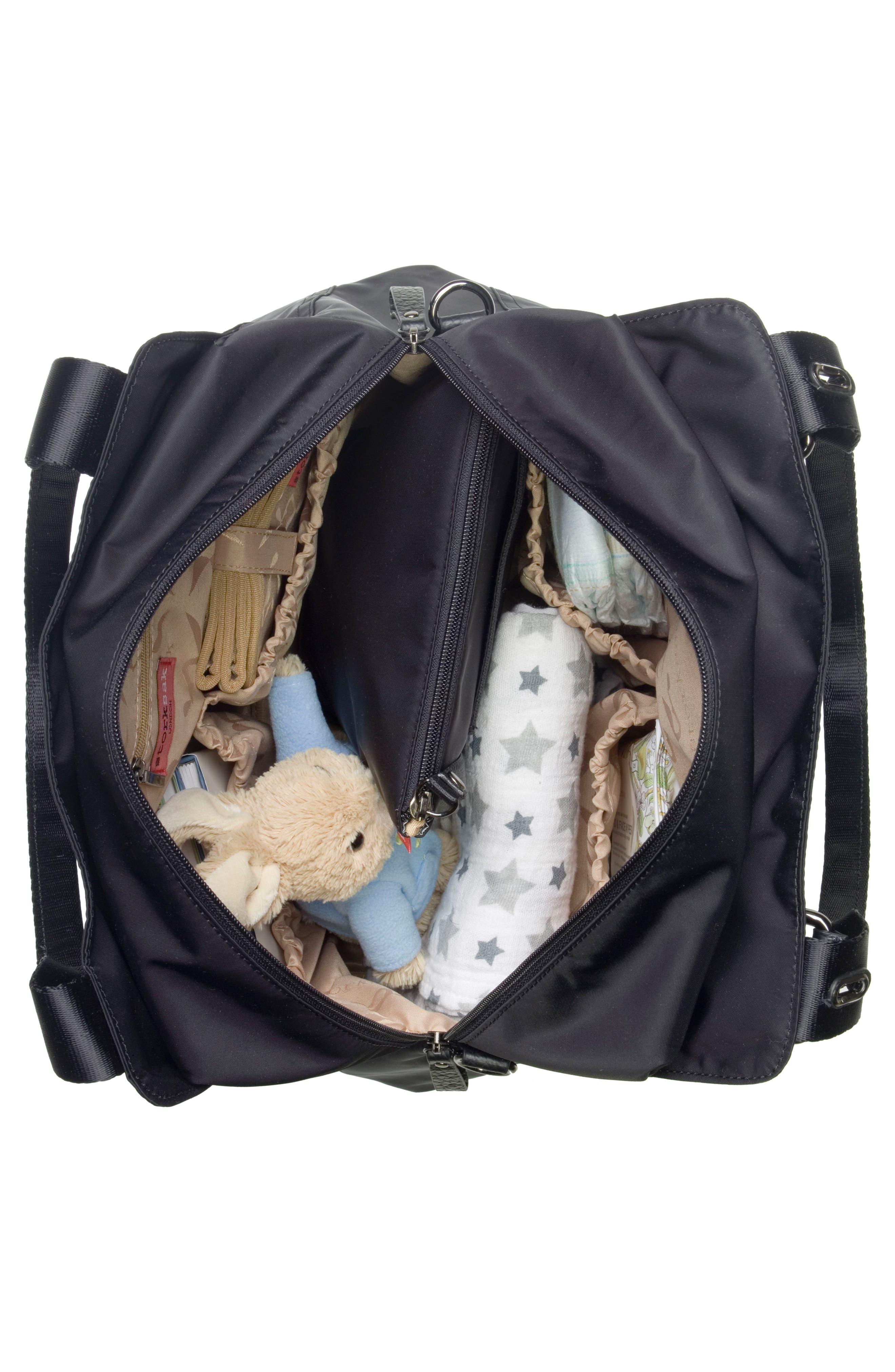Alternate Image 3  - Storksak Alexa Luxe Diaper Bag