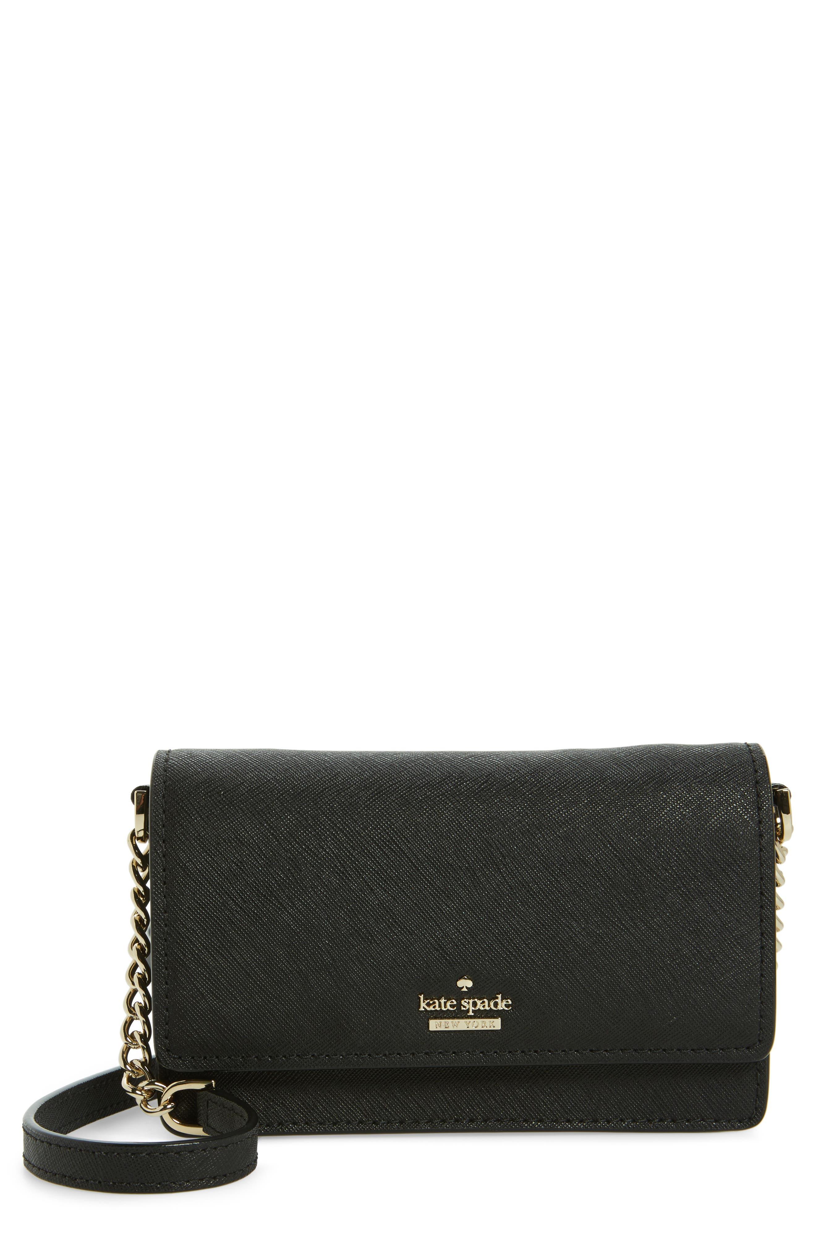 kate spade new york cameron street - shreya leather crossbody bag
