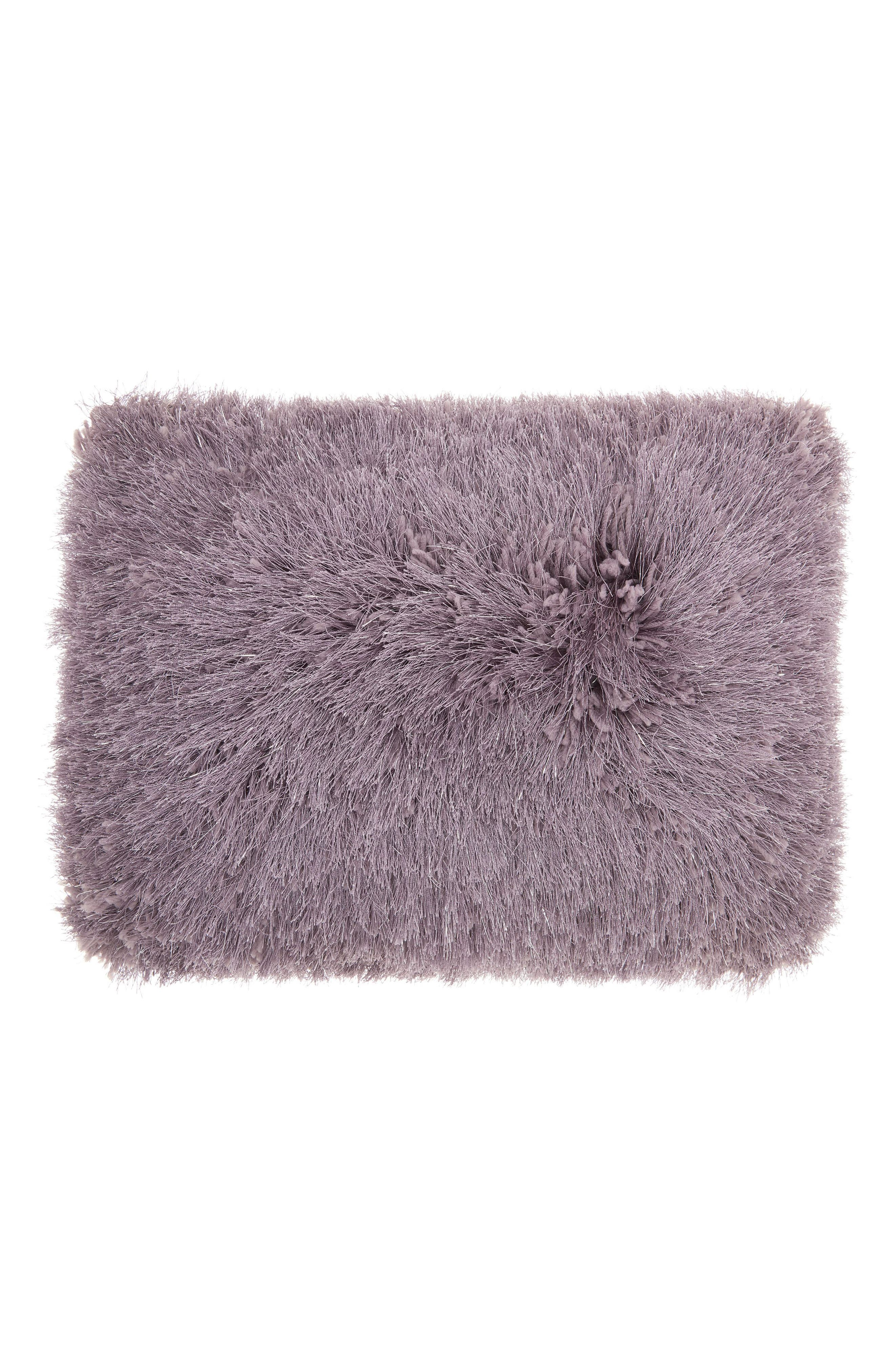 Mina Victory Shimmer Faux Fur Pillow