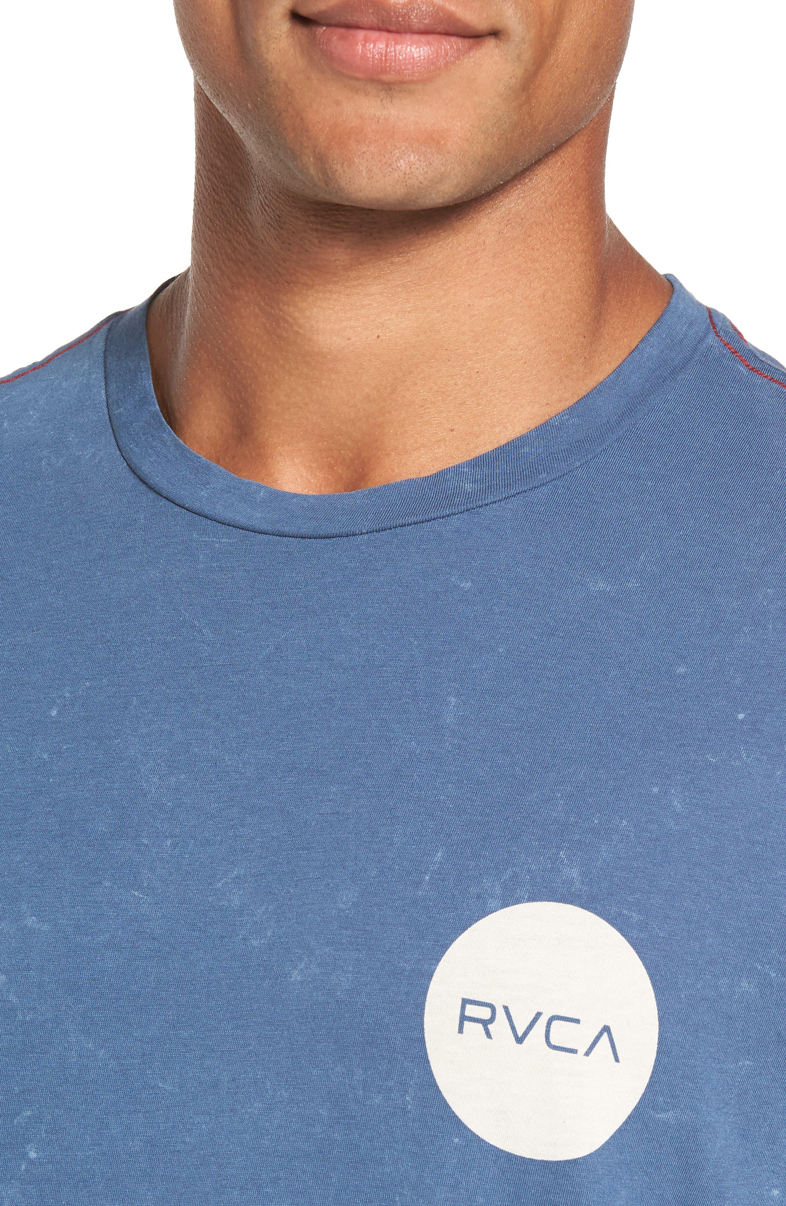 Motors Logo Graphic T-Shirt,                             Alternate thumbnail 4, color,                             Dark Denim