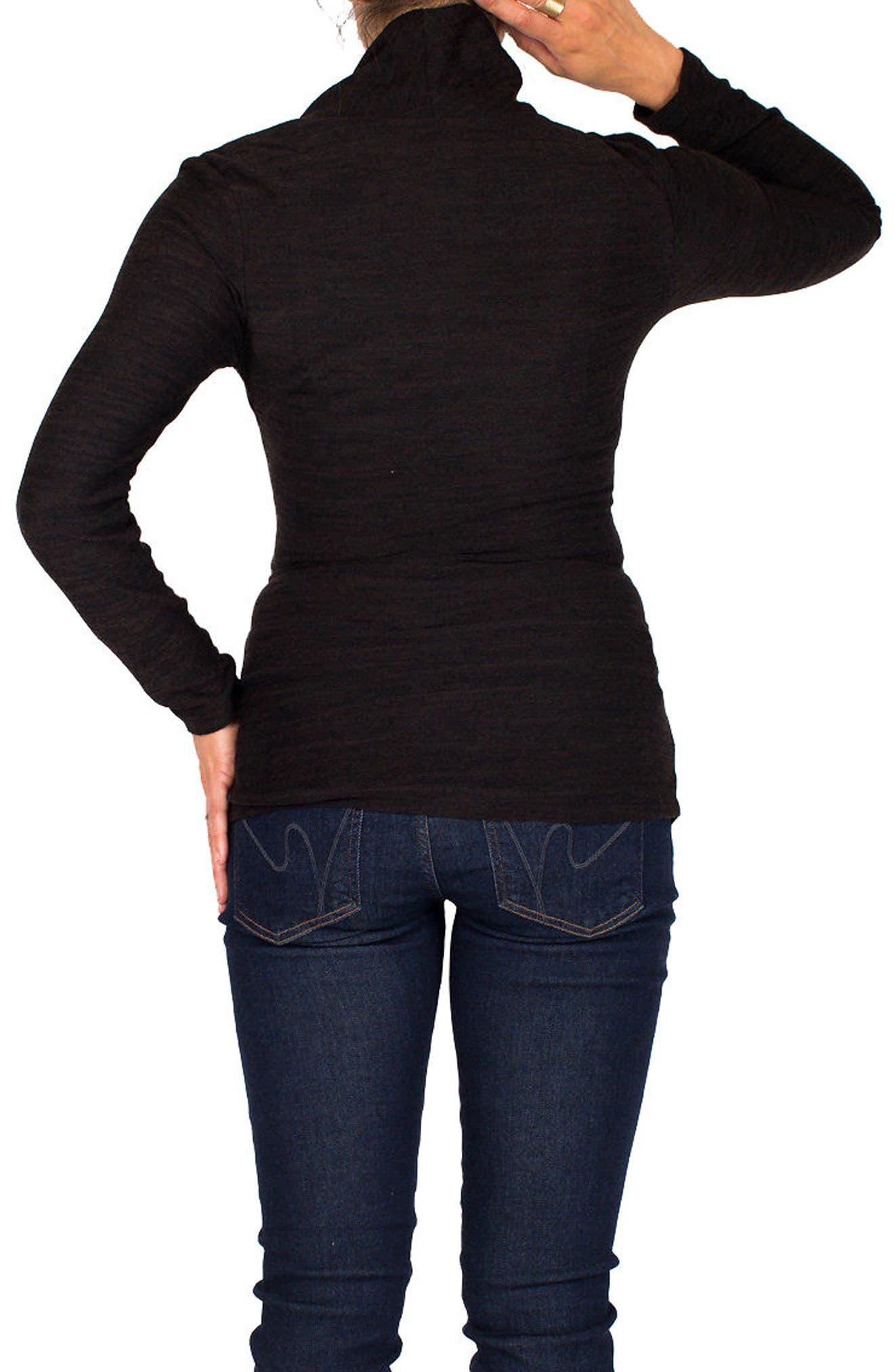 Alternate Image 2  - Nom Maternity Amy Maternity/Nursing Sweater