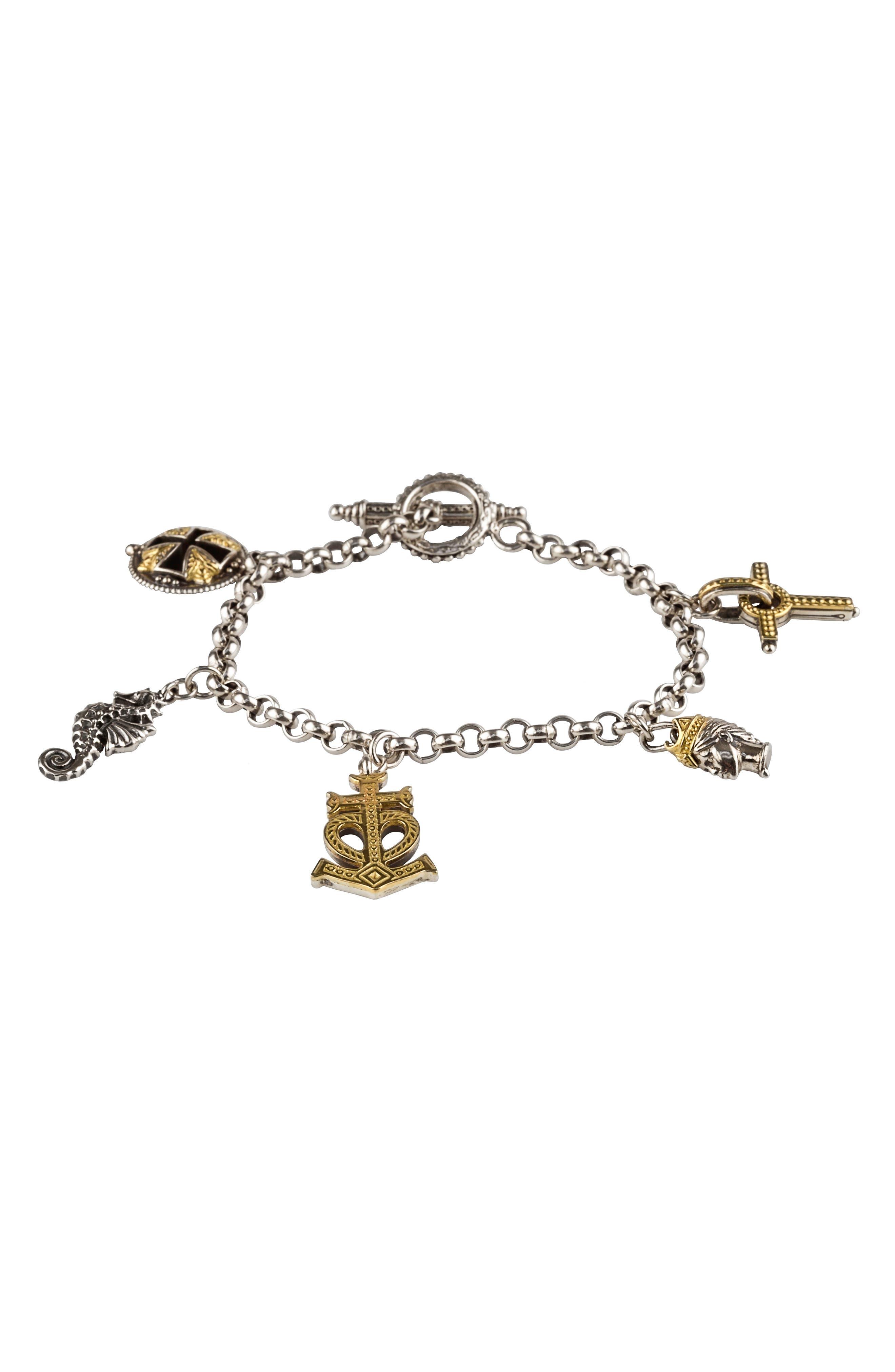 Alternate Image 1 Selected - Konstantino Gaia Charm Bracelet