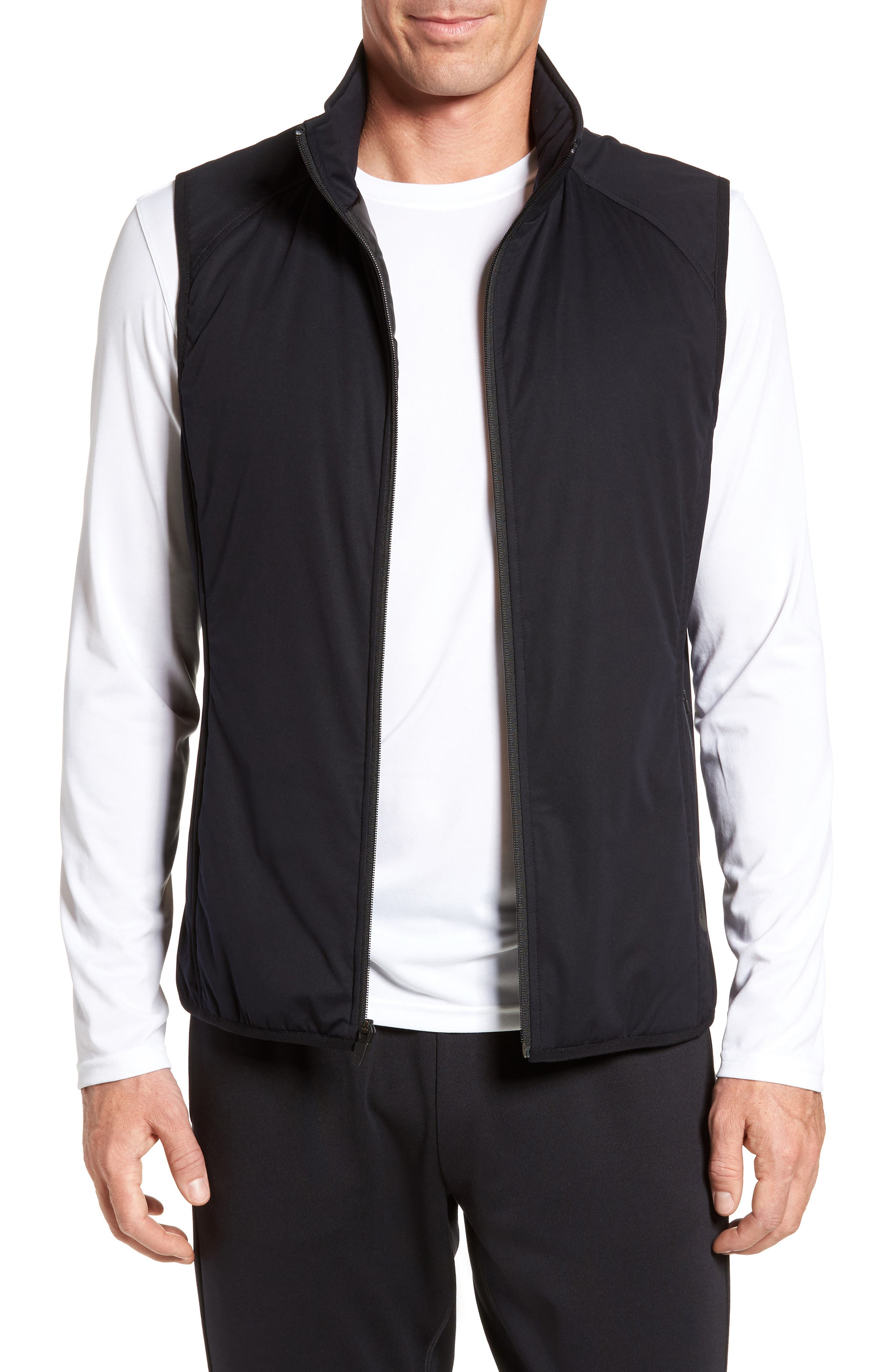 Main Image - Zella Soft Shell Zip Vest
