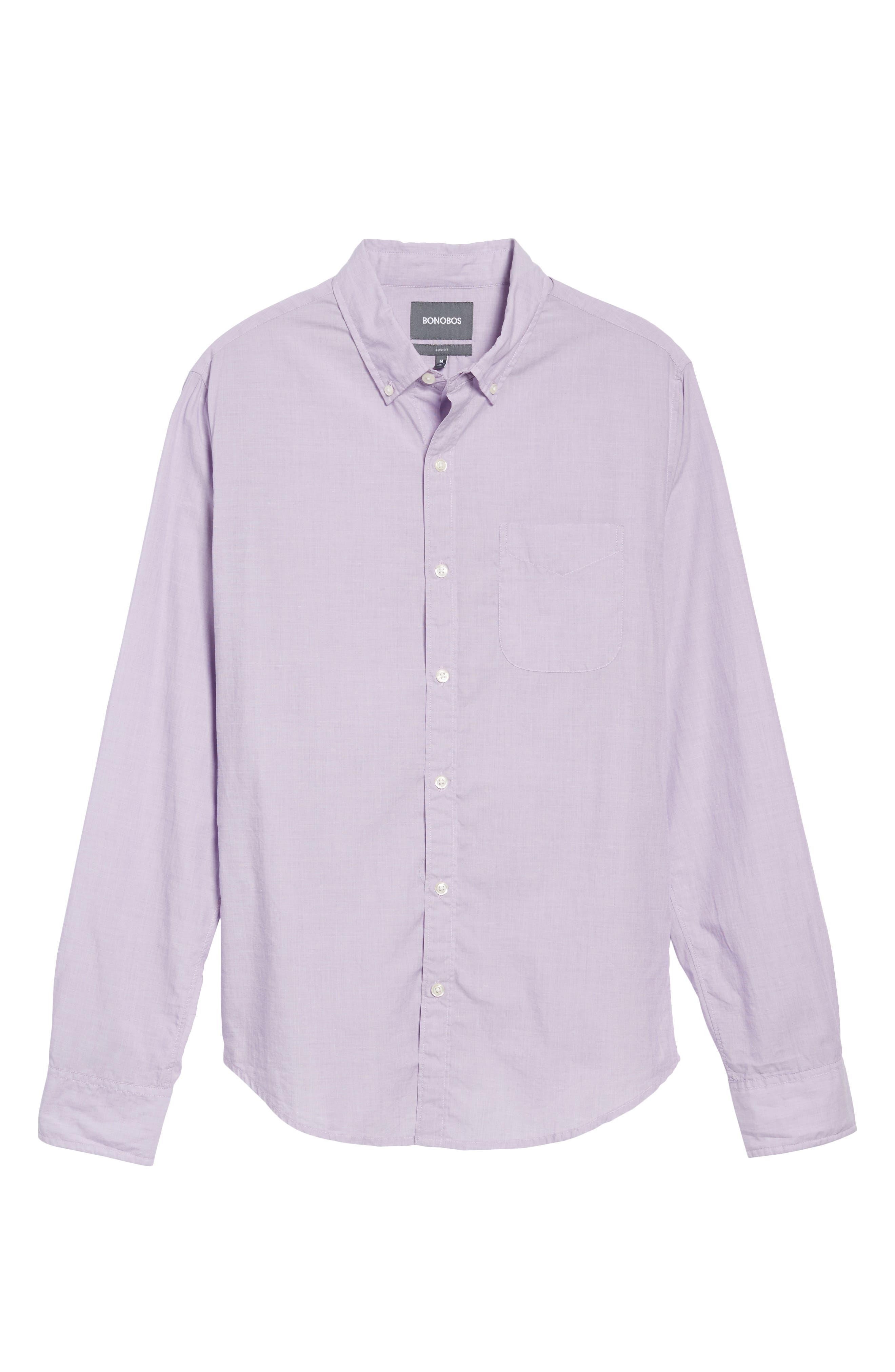 Alternate Image 6  - Bonobos Slim Fit Summerweight Sport Shirt