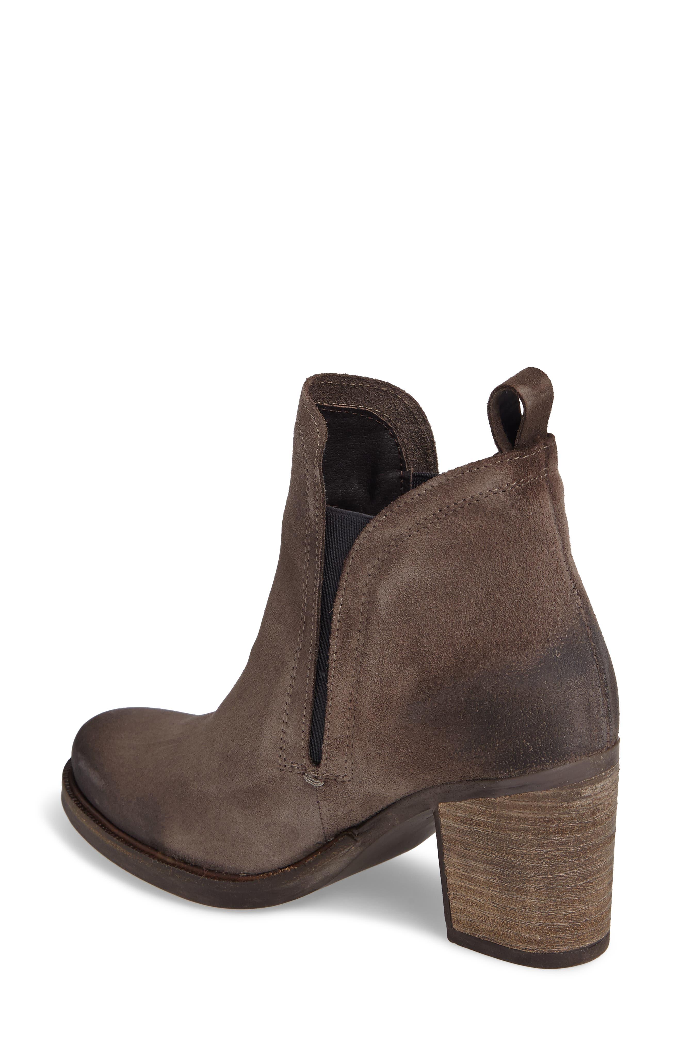 'Belfield' Waterproof Chelsea Boot,                             Alternate thumbnail 2, color,                             Grey Suede
