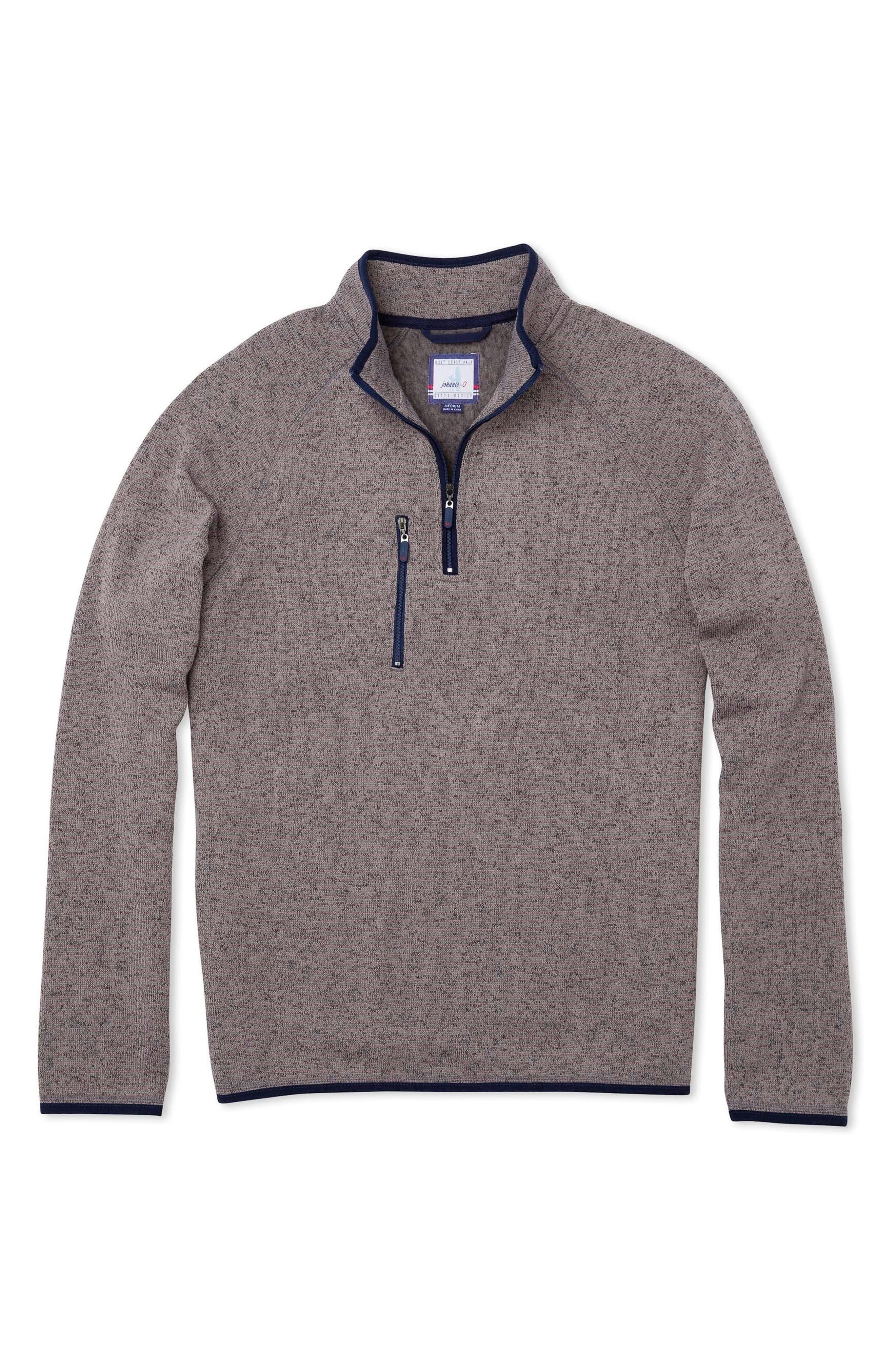 Yukon Quarter Zip Sweatshirt,                         Main,                         color, Quarry