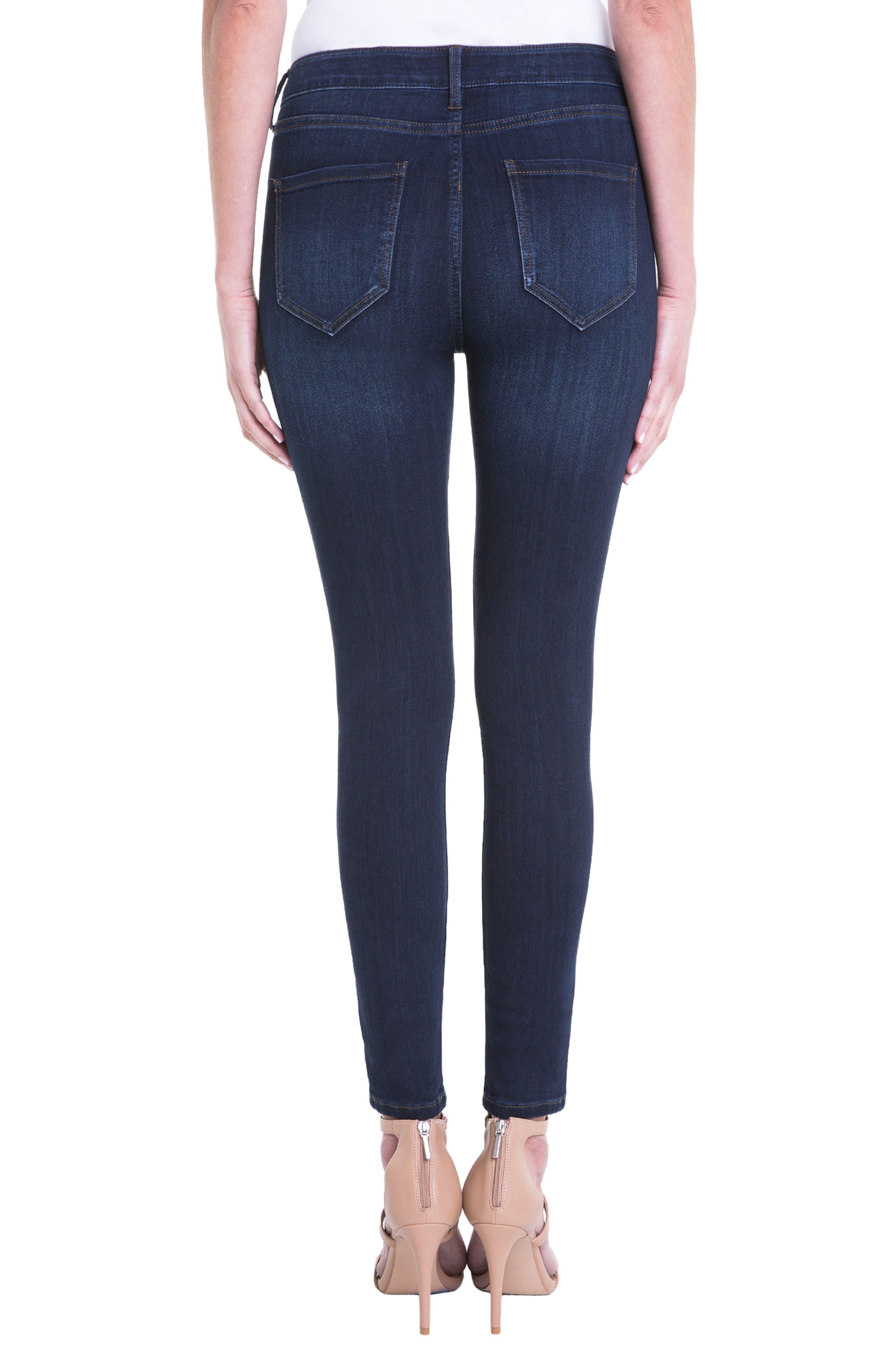 Jeans Company Bridget High Waist Skinny Jeans,                             Alternate thumbnail 2, color,                             Dunmore Dark