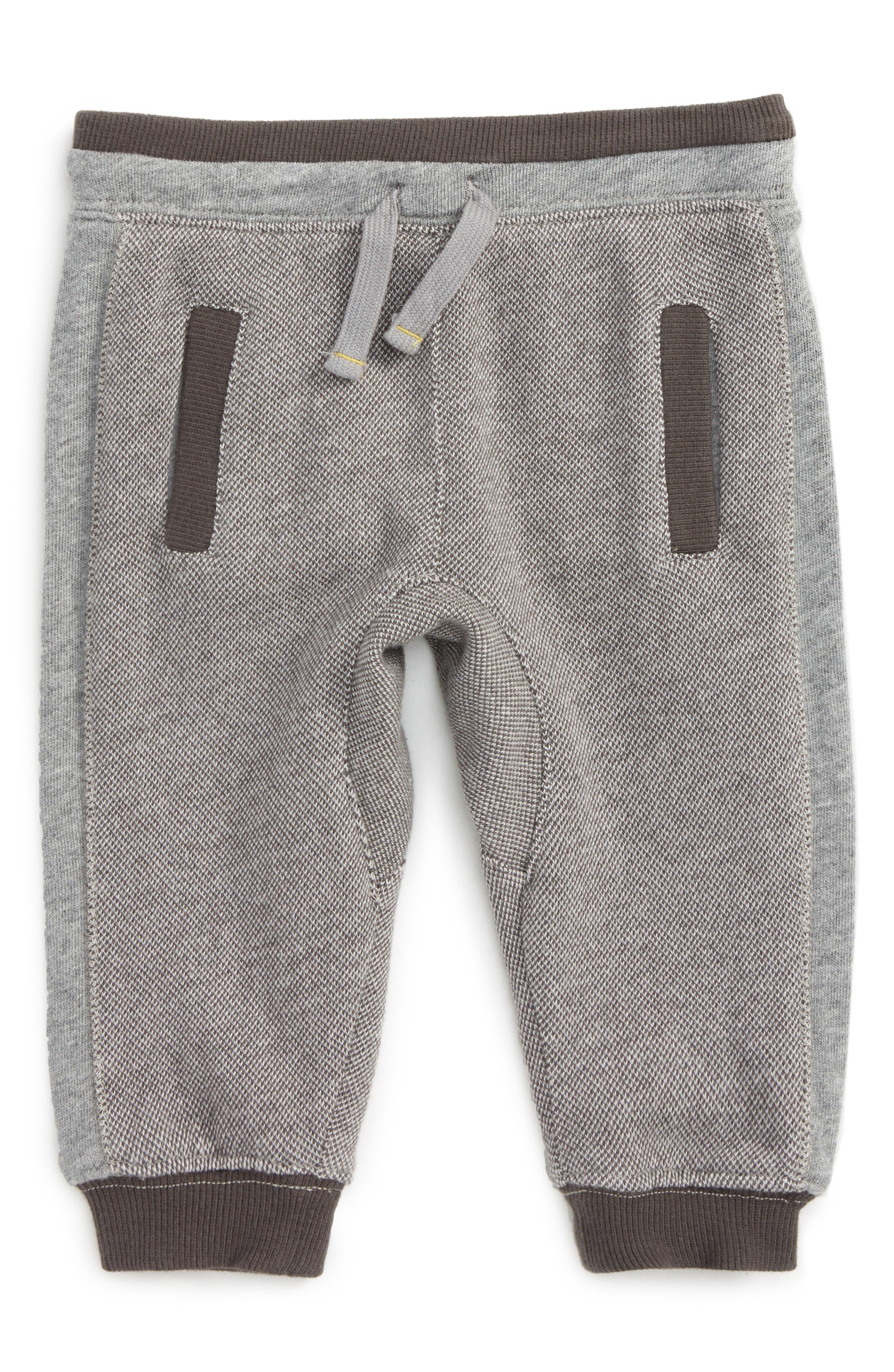 Bird's Eye Jogger Pants,                         Main,                         color, Grey S025