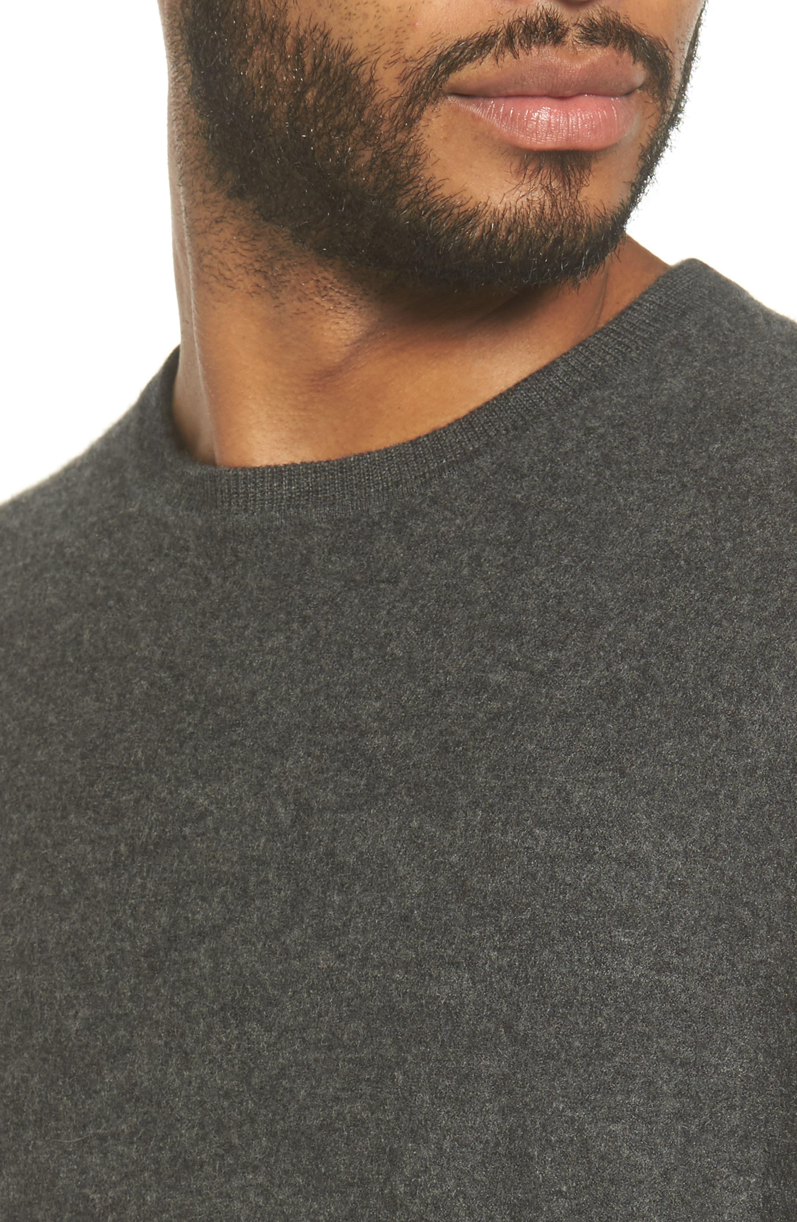 Alternate Image 5  - Vince Cashmere Crewneck Sweater