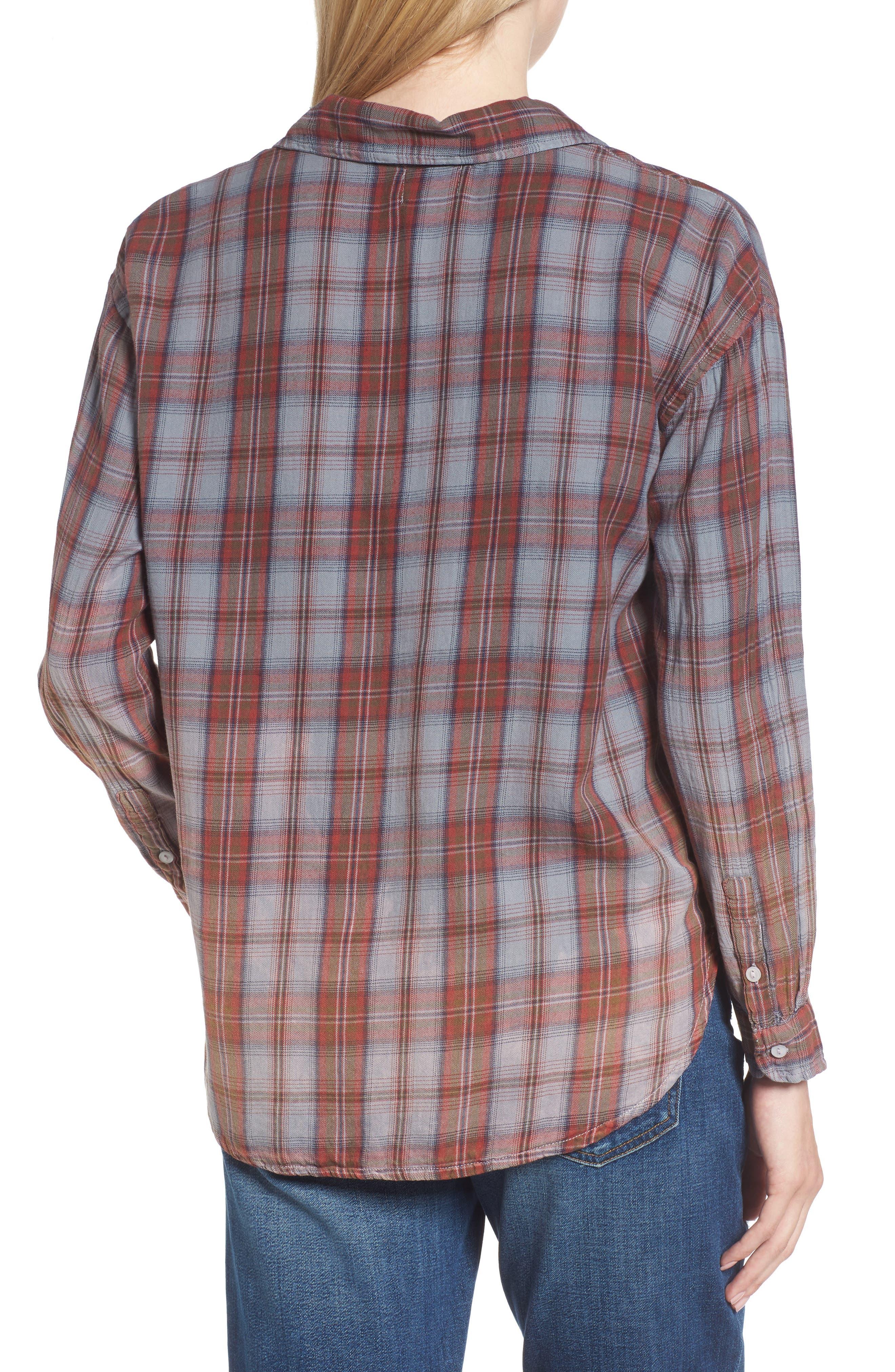 Alternate Image 2  - Sundry Plaid Pocket Shirt