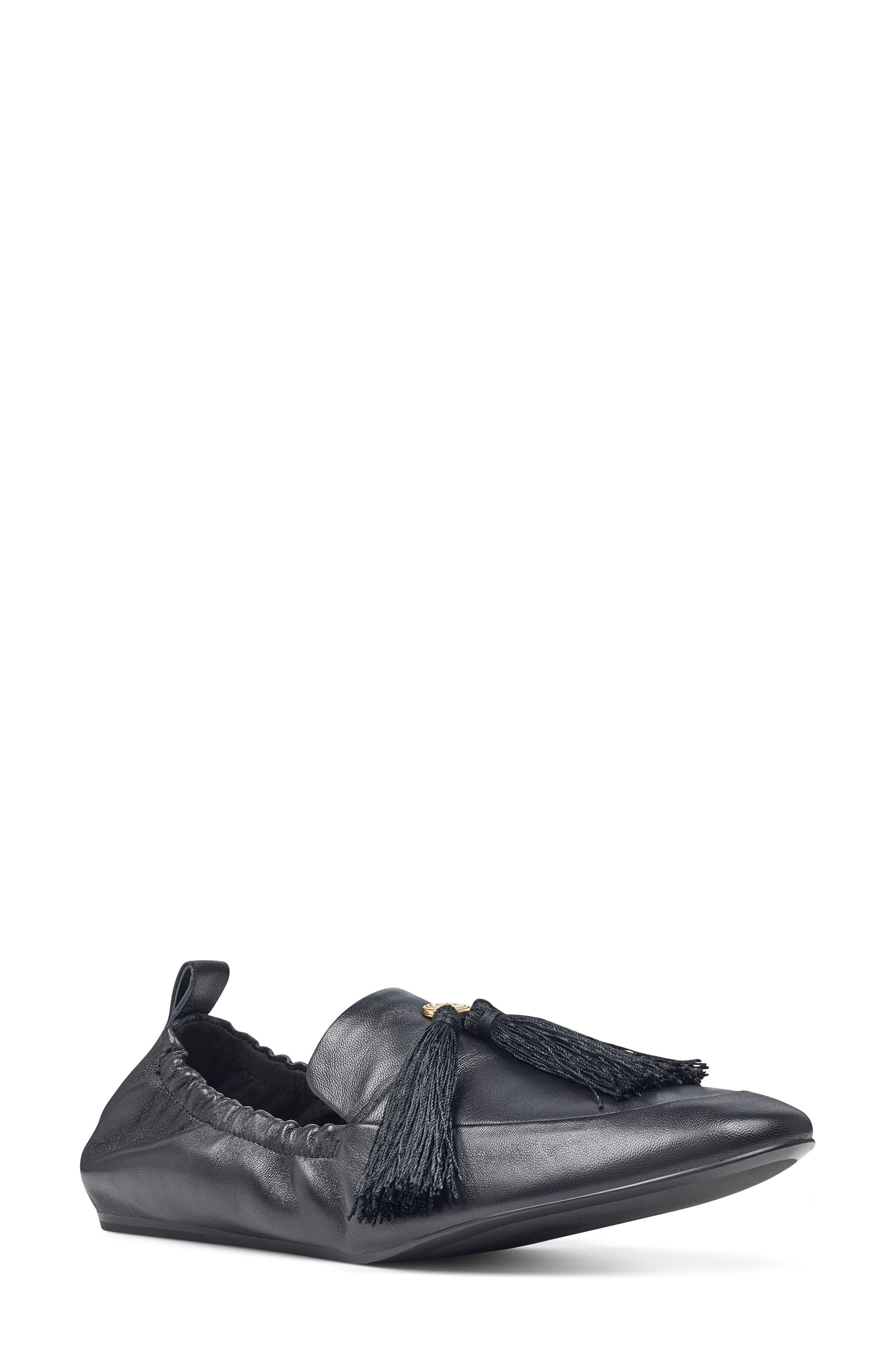 Nine West Ballard Tassel Loafer Flat (Women)