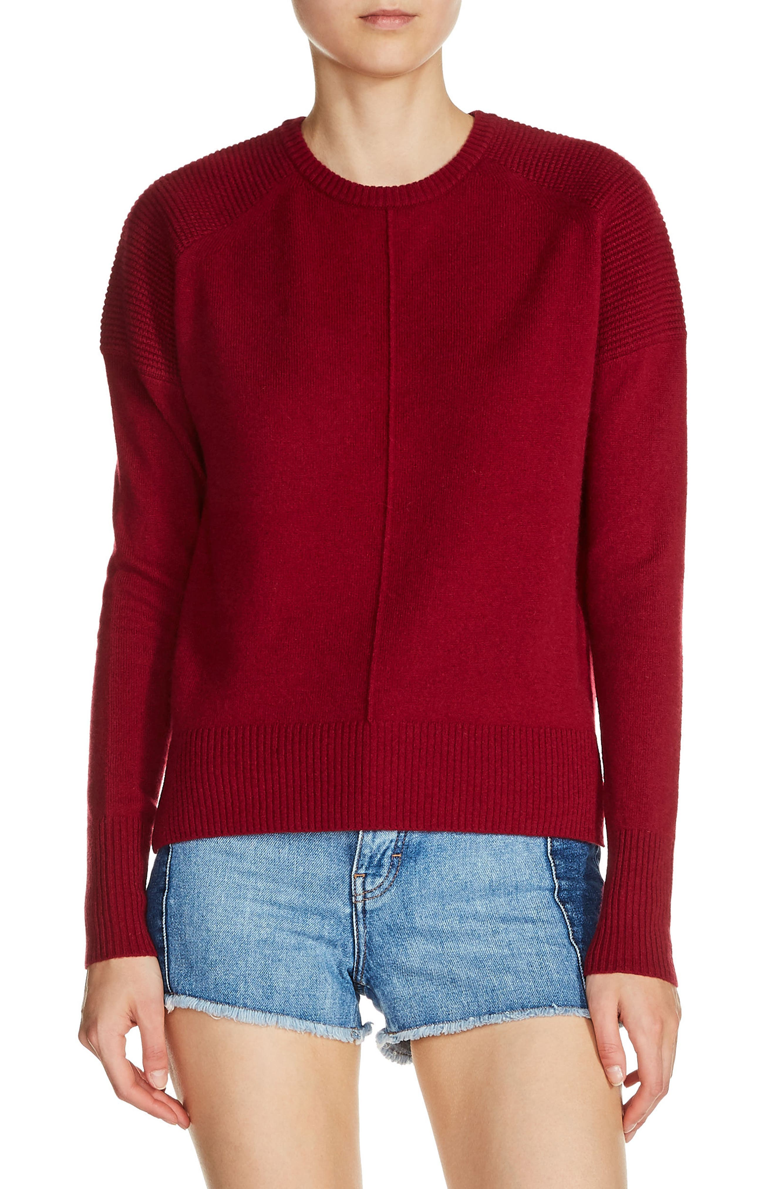 Alternate Image 1 Selected - maje Cashmere Sweater