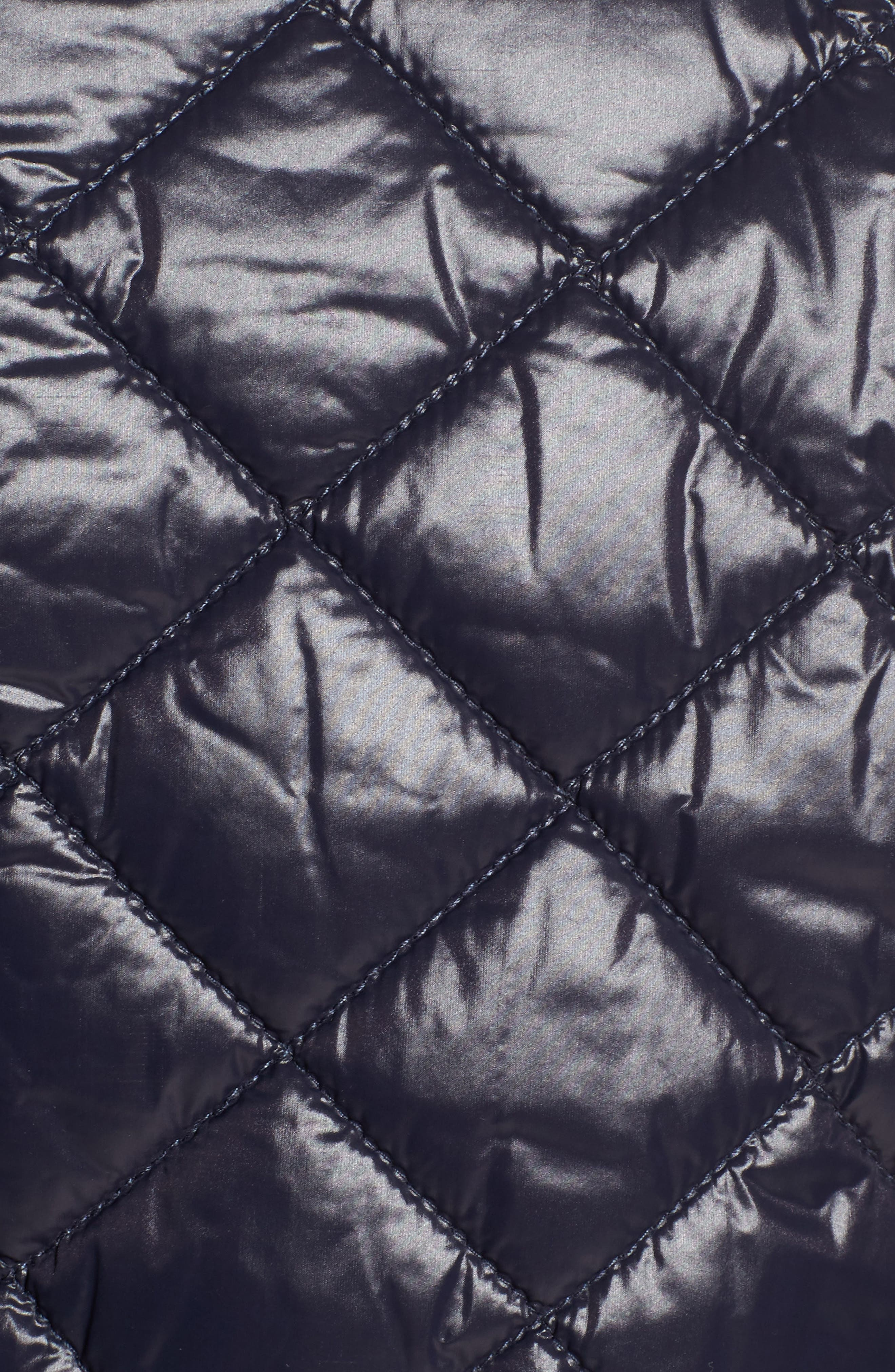 Alternate Image 5  - French Connection Quilted Bomber Jacket