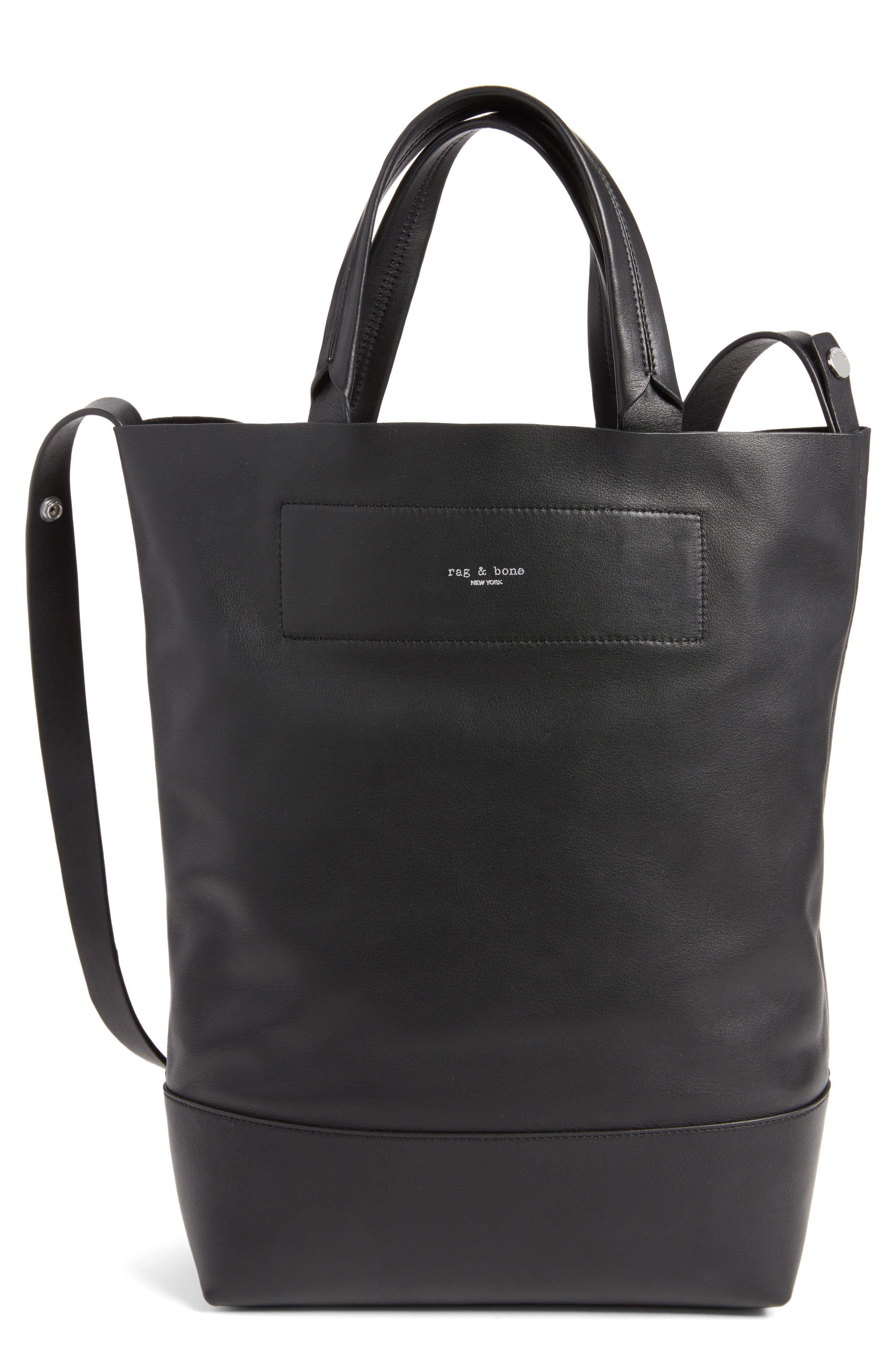 Main Image - rag & bone Walker Convertible Leather Tote