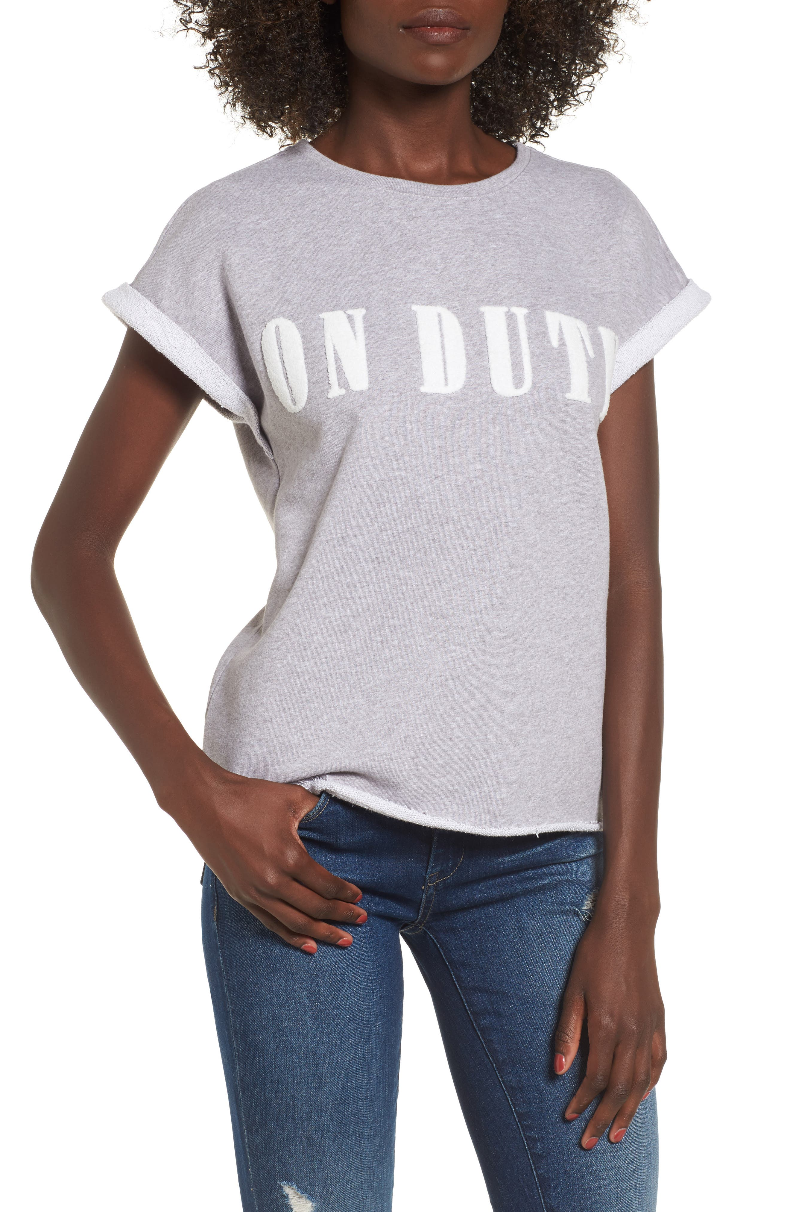 Main Image - SuperTrash Tear Cutoff Sweatshirt