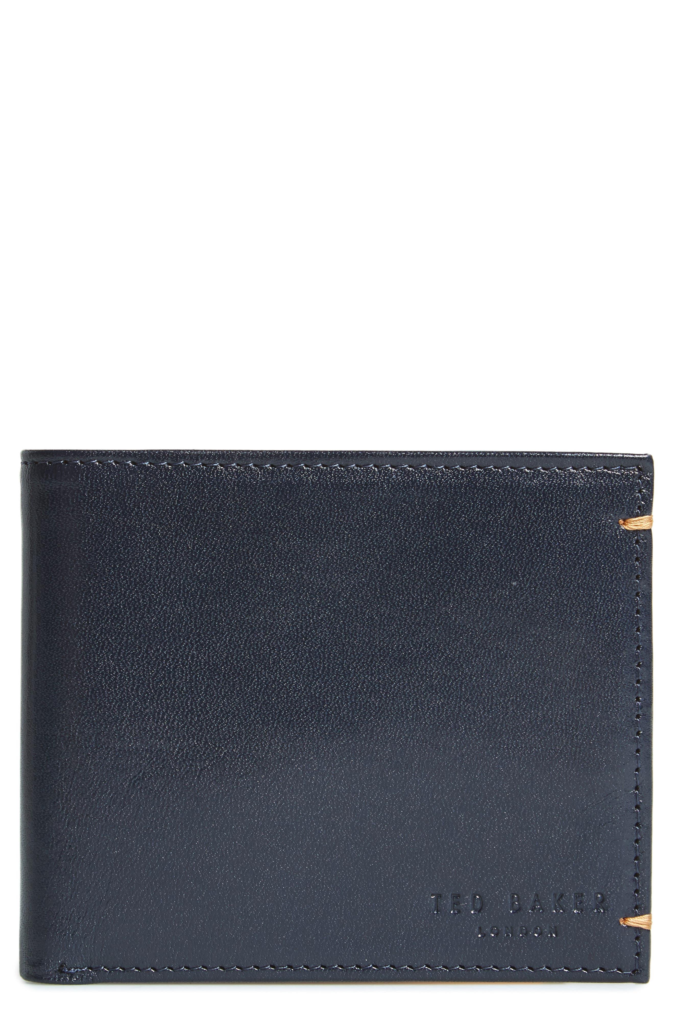Alternate Image 1 Selected - Ted Baker London Vivid Leather Wallet