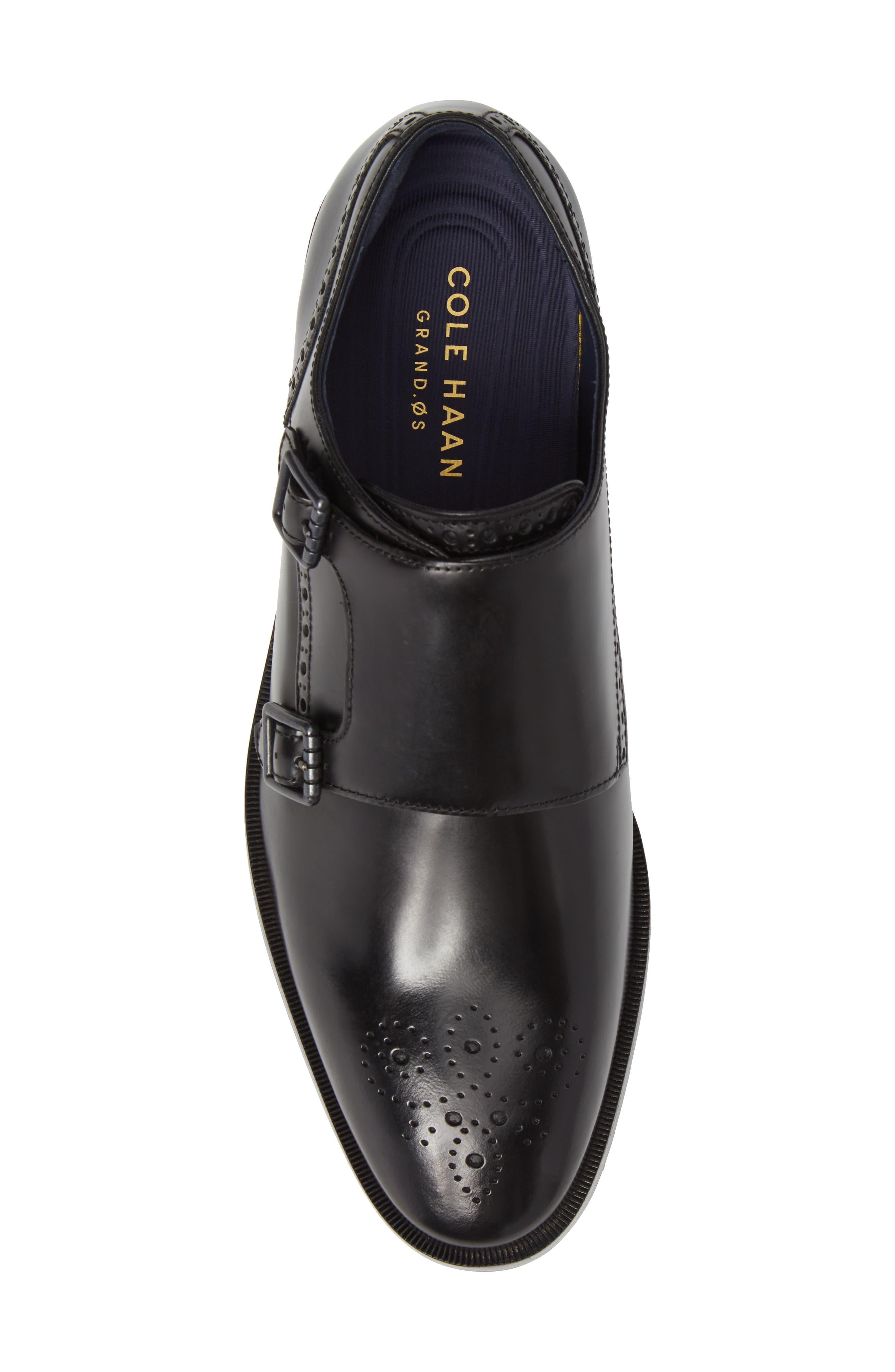 Alternate Image 5  - Cole Haan Hamilton Double Monk Strap Shoe (Men)