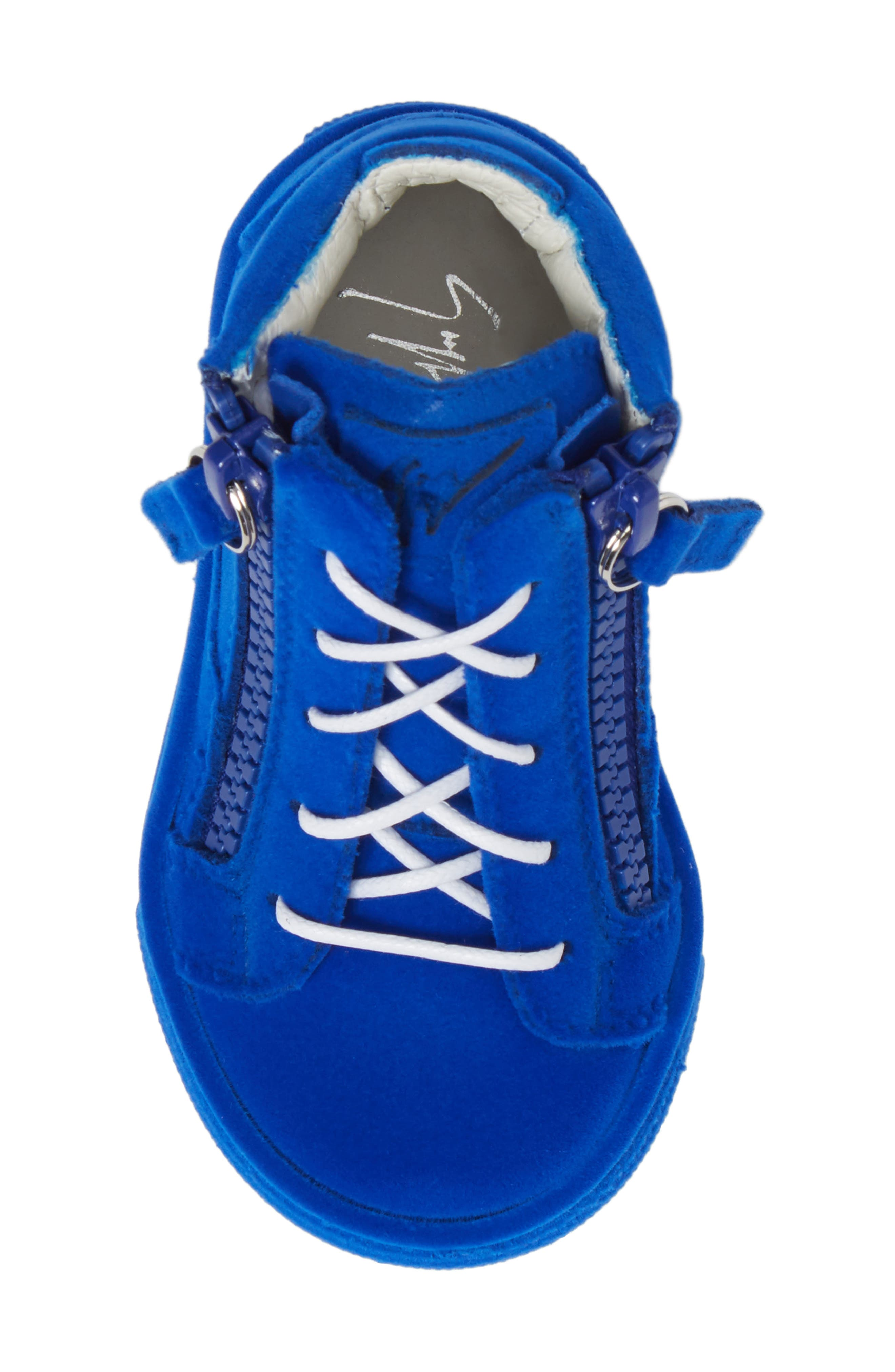 Alternate Image 5  - Giuseppe Zanotti Smuggy Sneaker (Baby, Walker, Toddler & Little Kid)