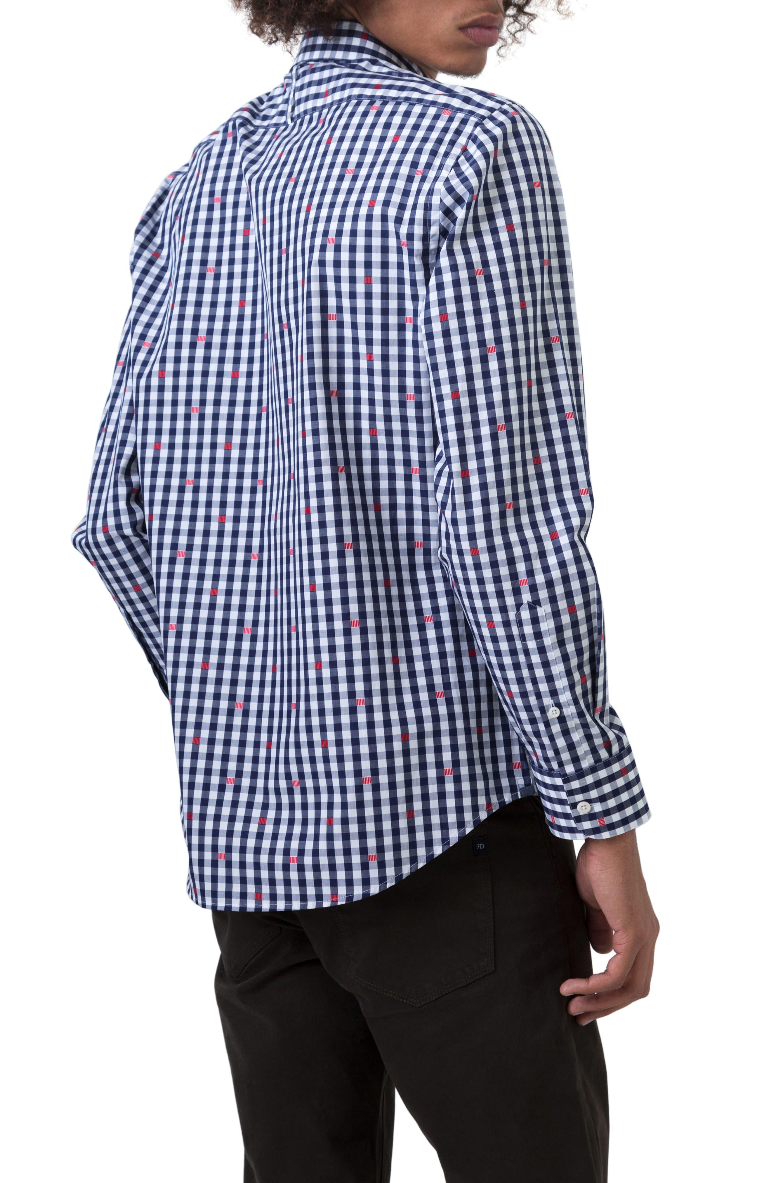 Petrichor Woven Shirt,                             Alternate thumbnail 2, color,                             Navy
