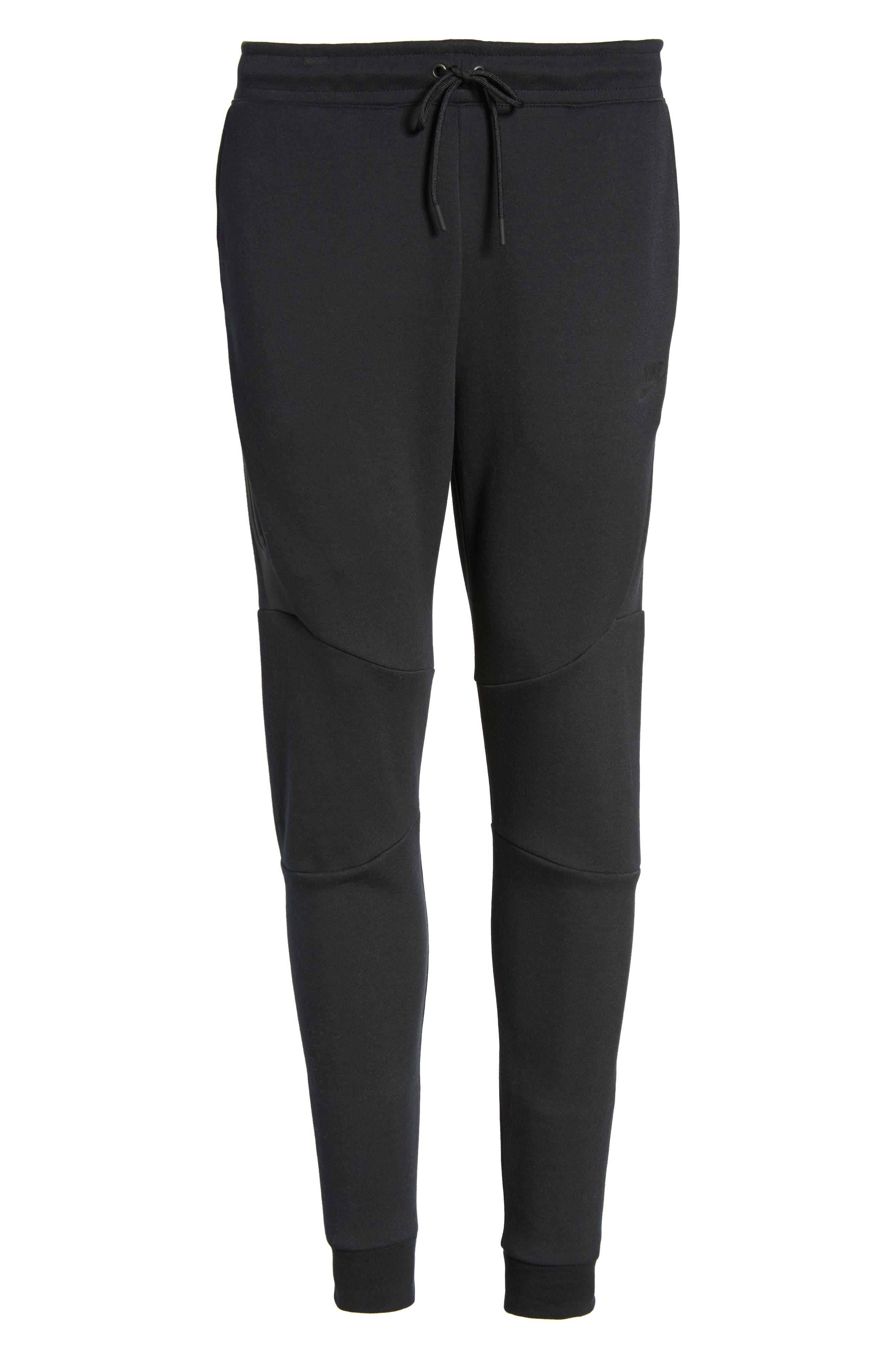 Tech Fleece Jogger Pants,                             Alternate thumbnail 7, color,                             Black/ Black