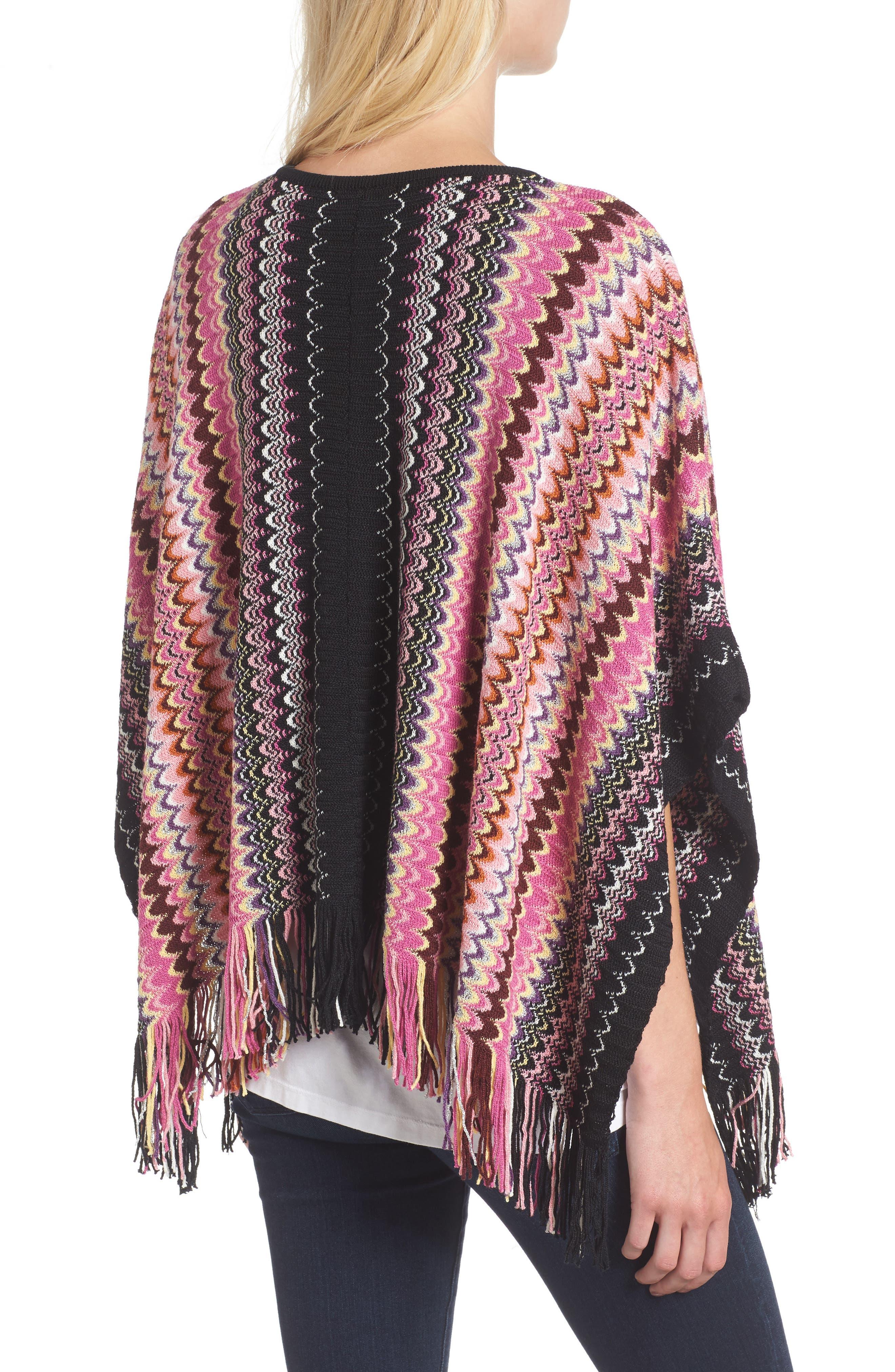Alternate Image 2  - Missoni Stripe Poncho