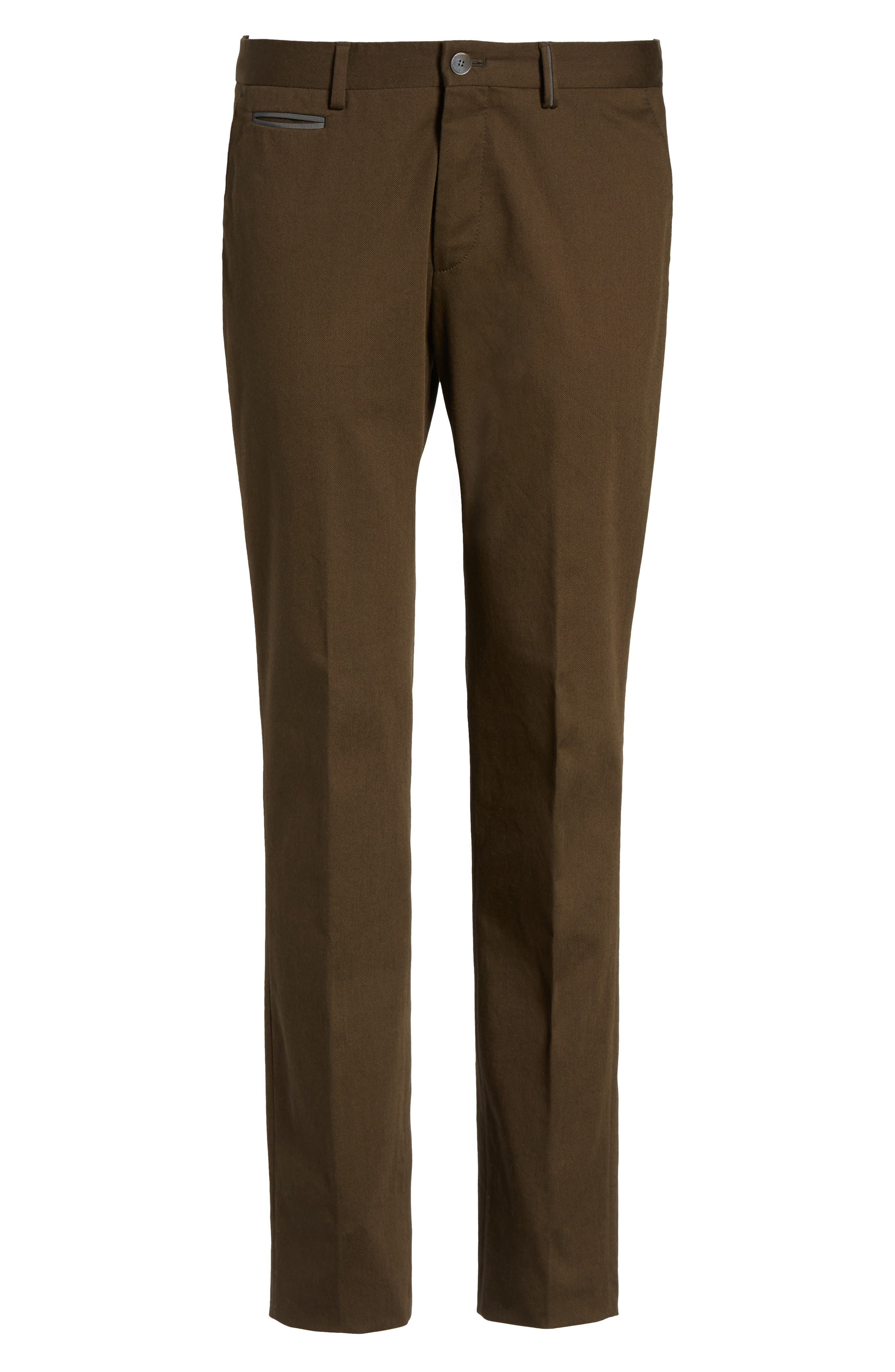 Batho-W Regular Fit Trousers,                             Alternate thumbnail 6, color,                             Open Green