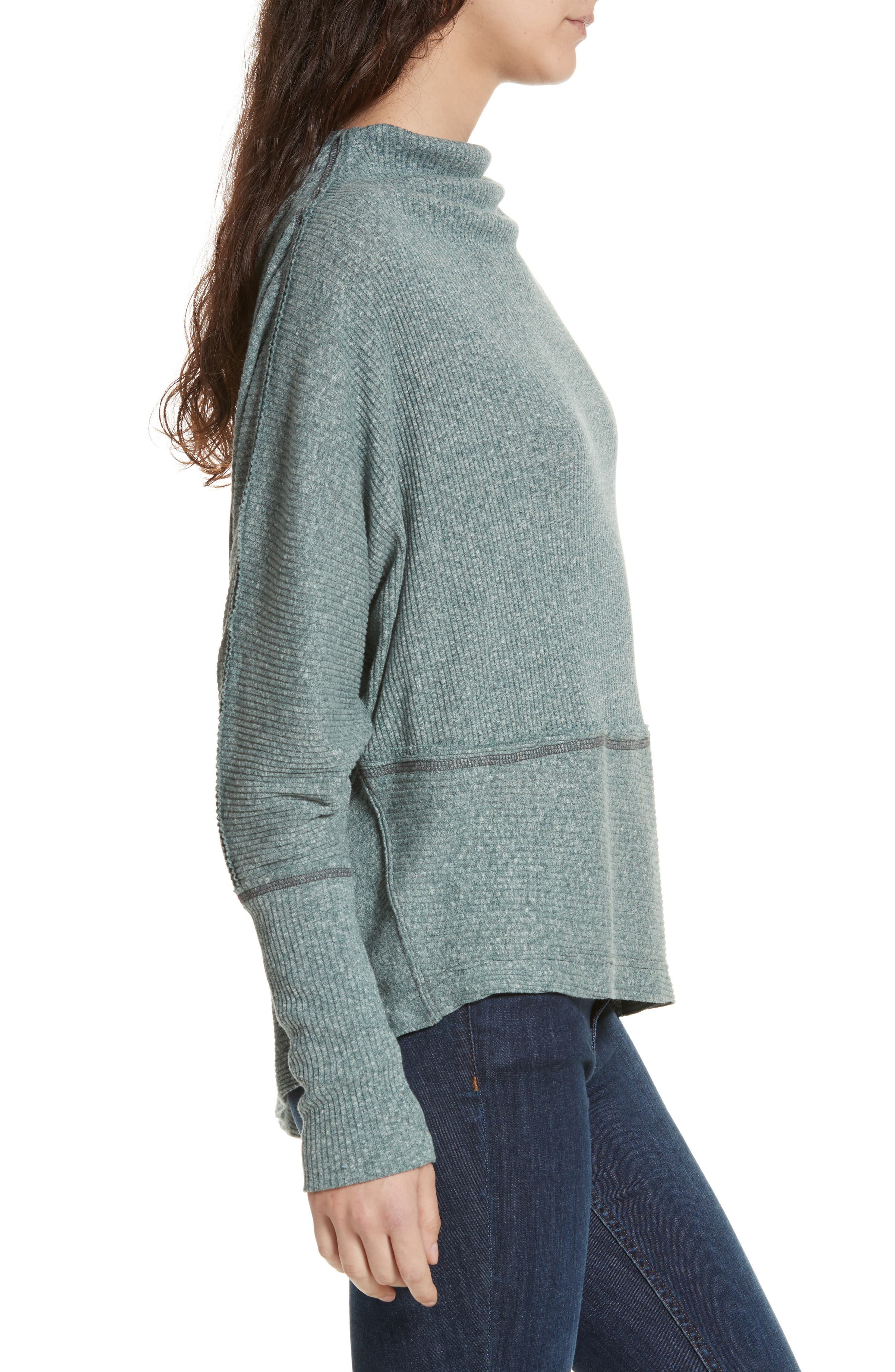 Alternate Image 3  - Free People Londontown Thermal Sweater