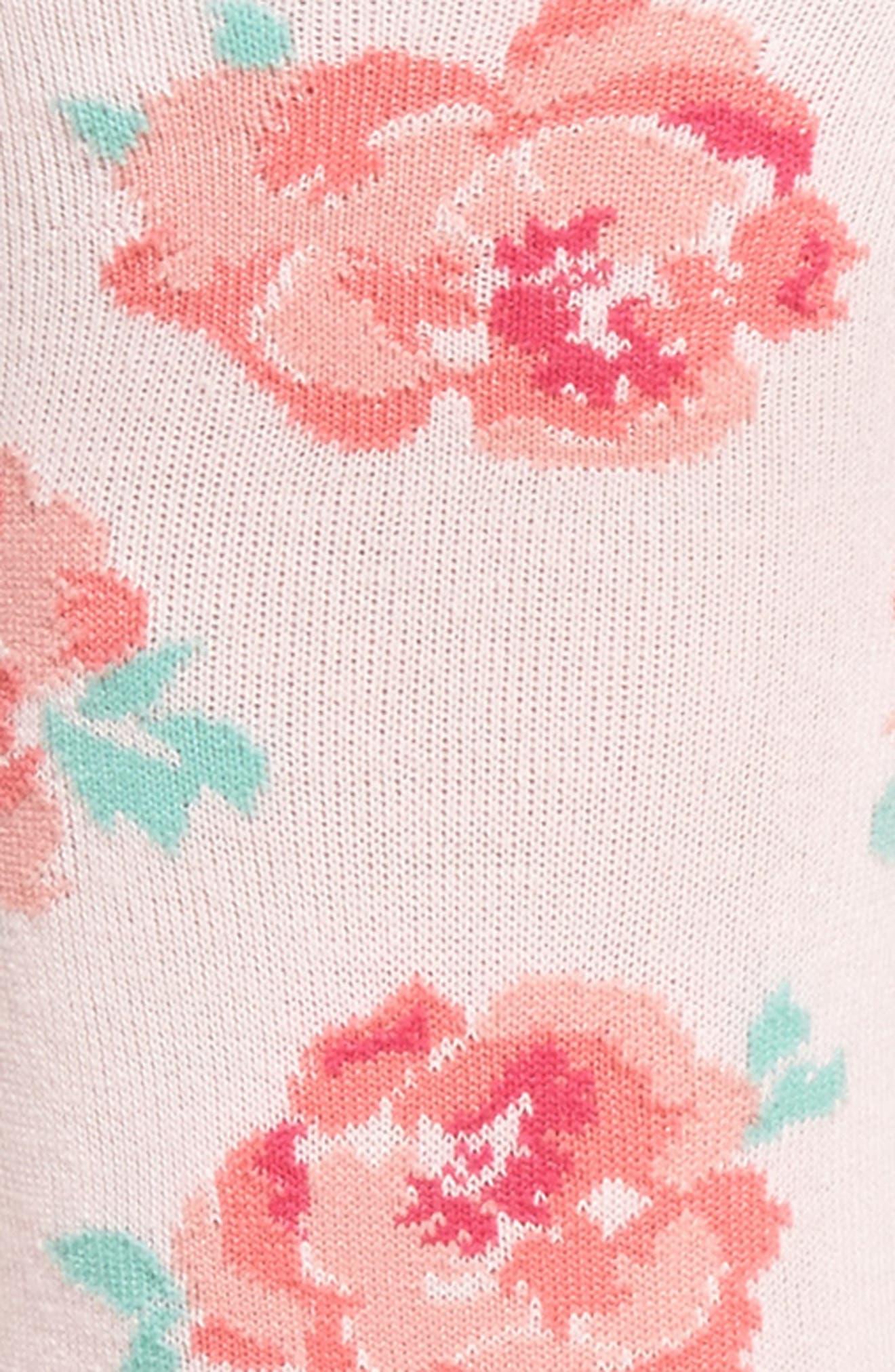 Bride Crew Socks,                             Alternate thumbnail 3, color,                             Light Pink