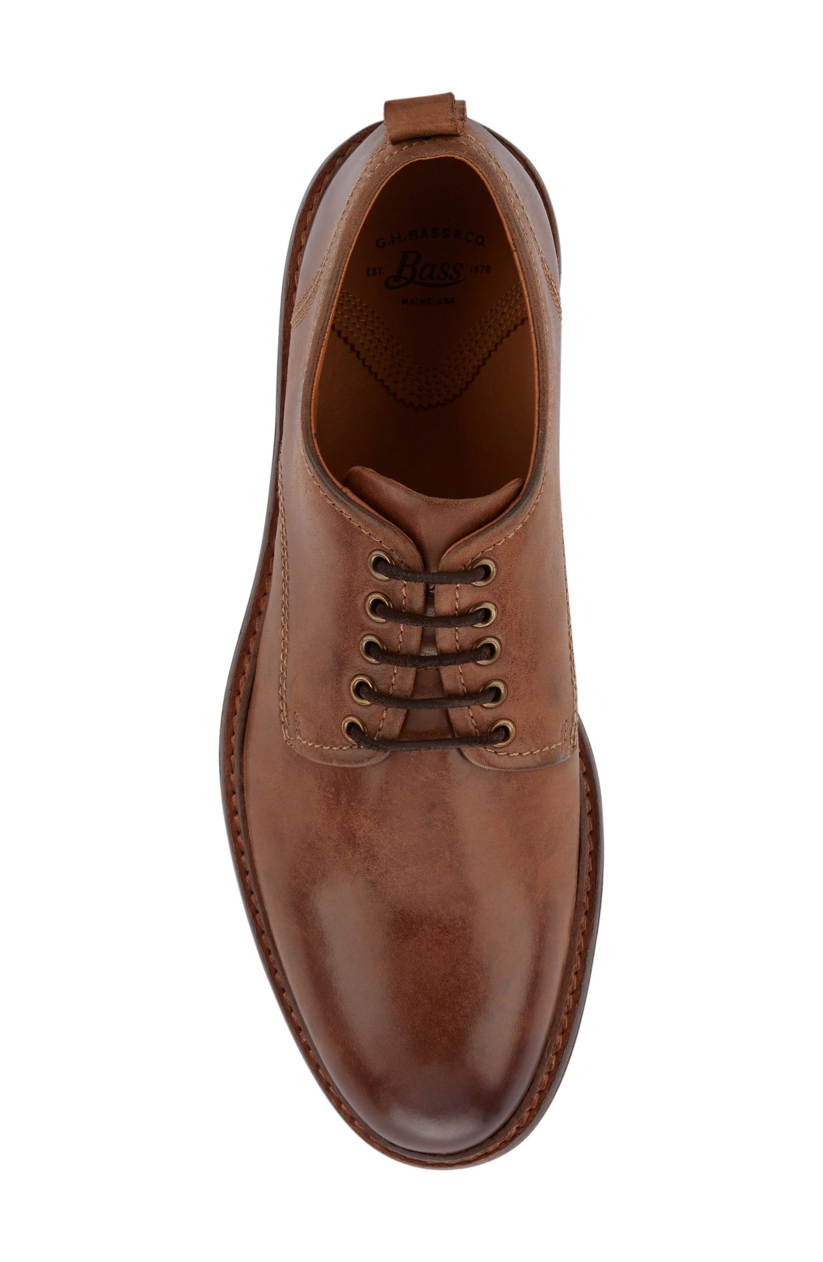 Alternate Image 4  - G.H. Bass Hanson Plain Toe Derby (Men)