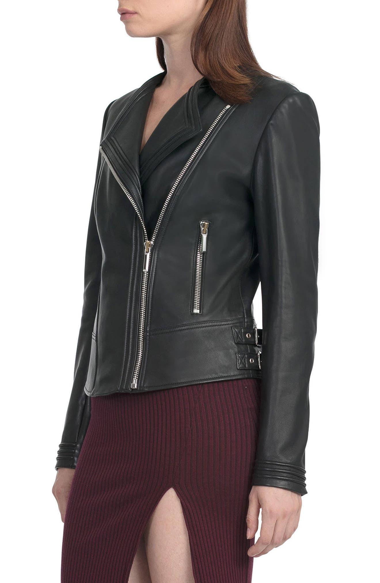 Alternate Image 3  - Bagatelle Pintucked Moto Jacket