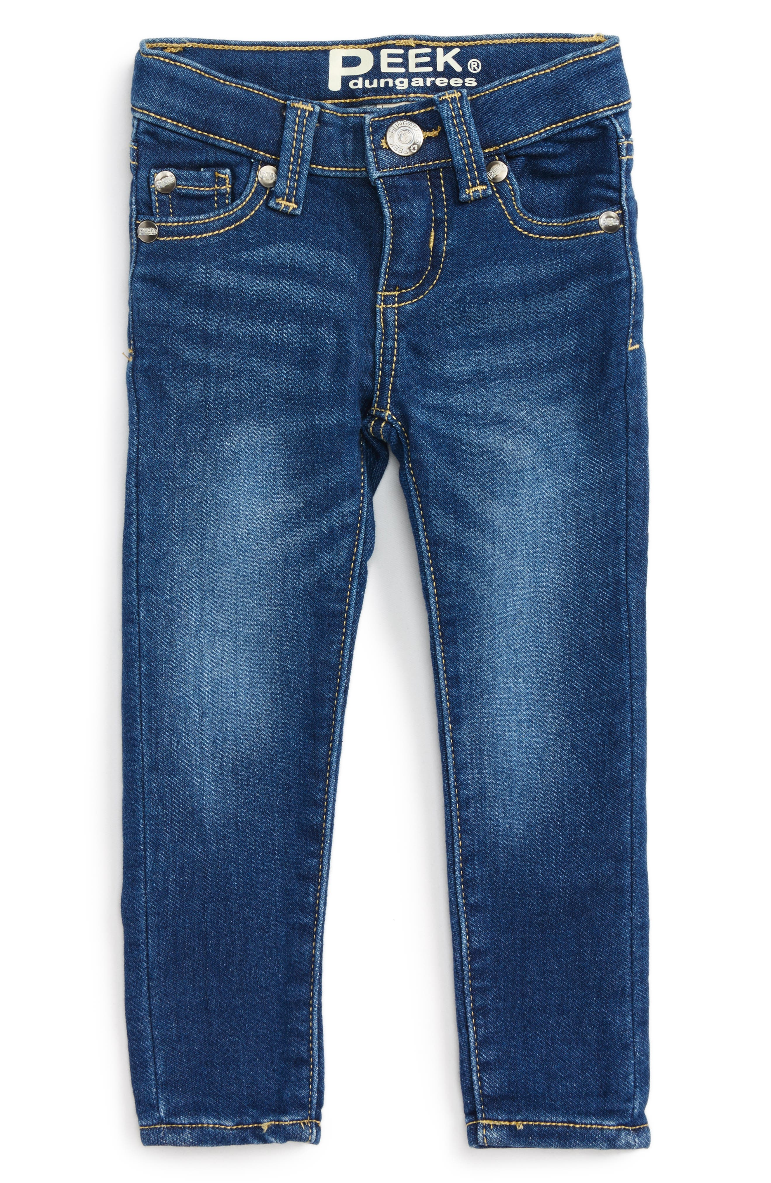 Taylor Skinny Jeans,                         Main,                         color, Medium Authentic