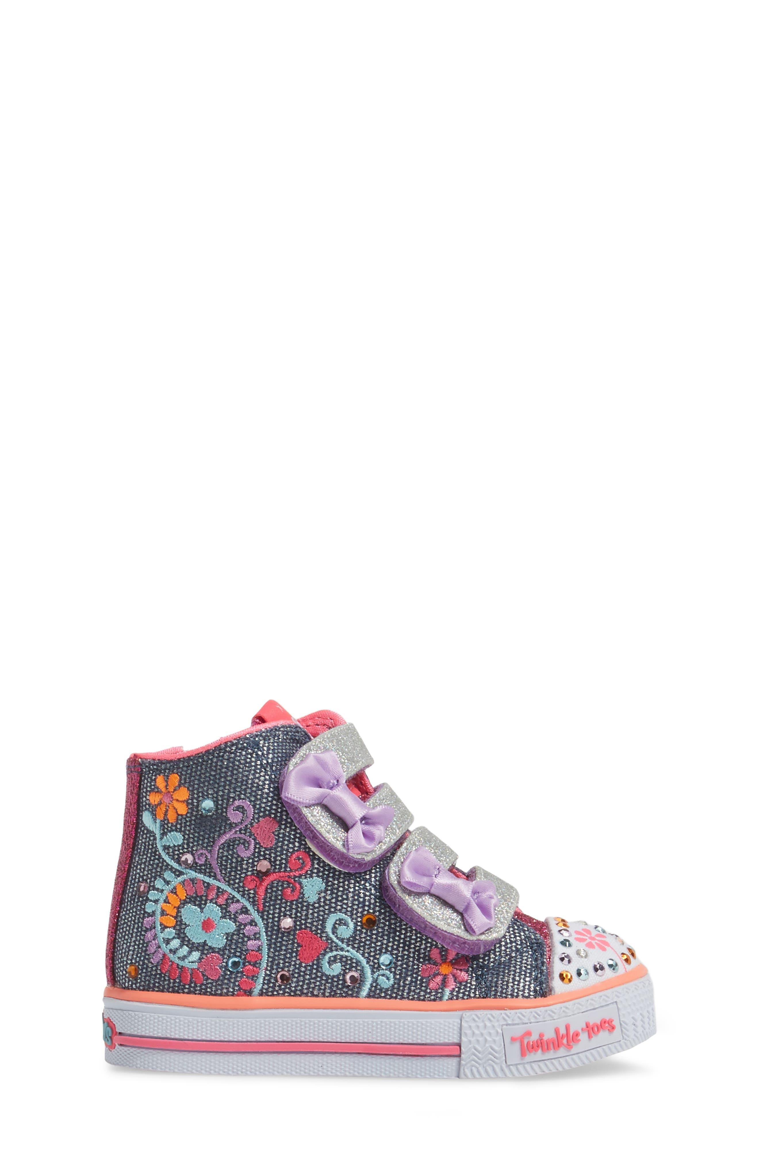 Alternate Image 3  - SKECHERS Shuffles Sneaker (Walker & Toddler)