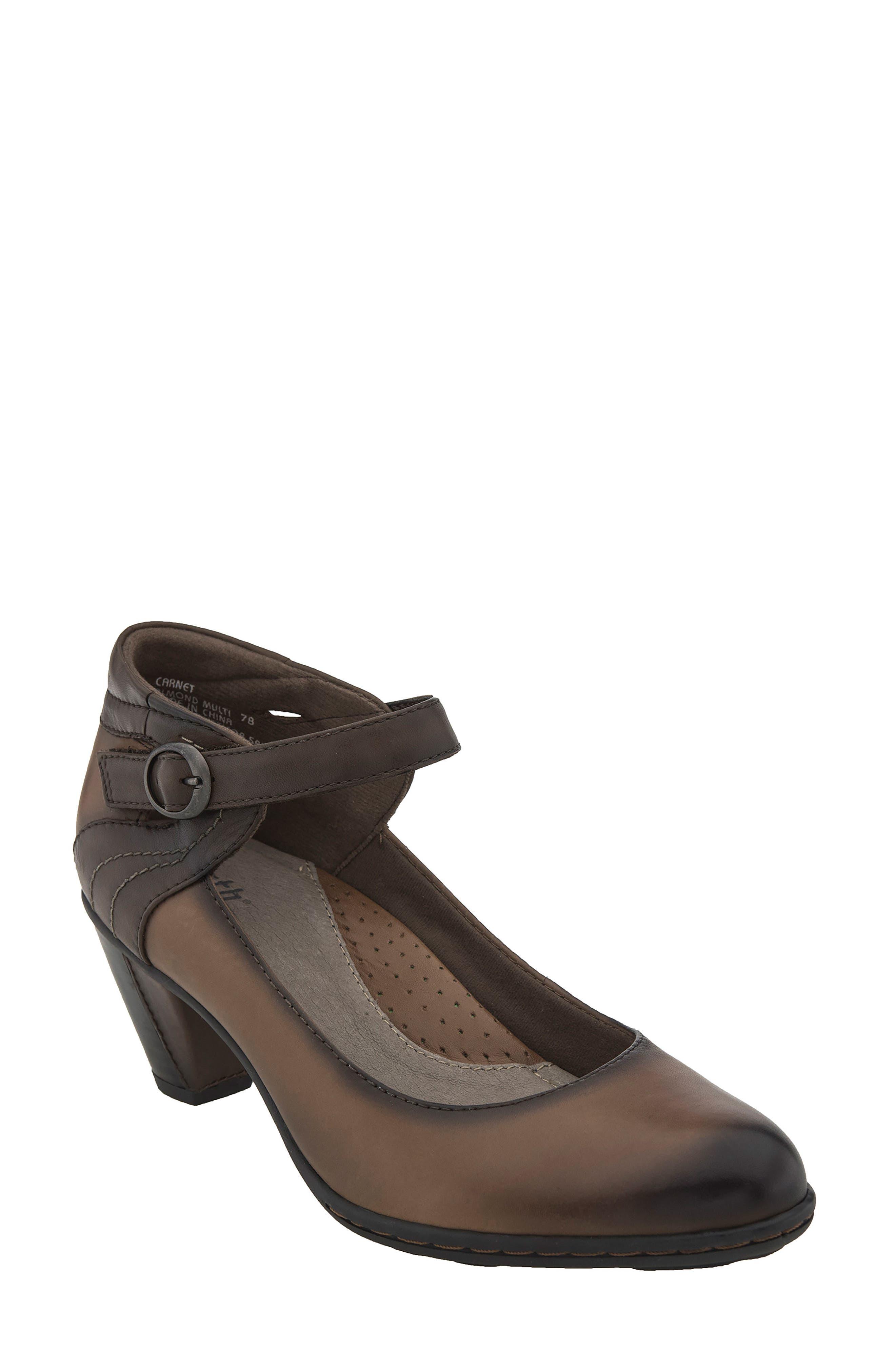 Earth® Garnet Ankle Strap Pump (Women)