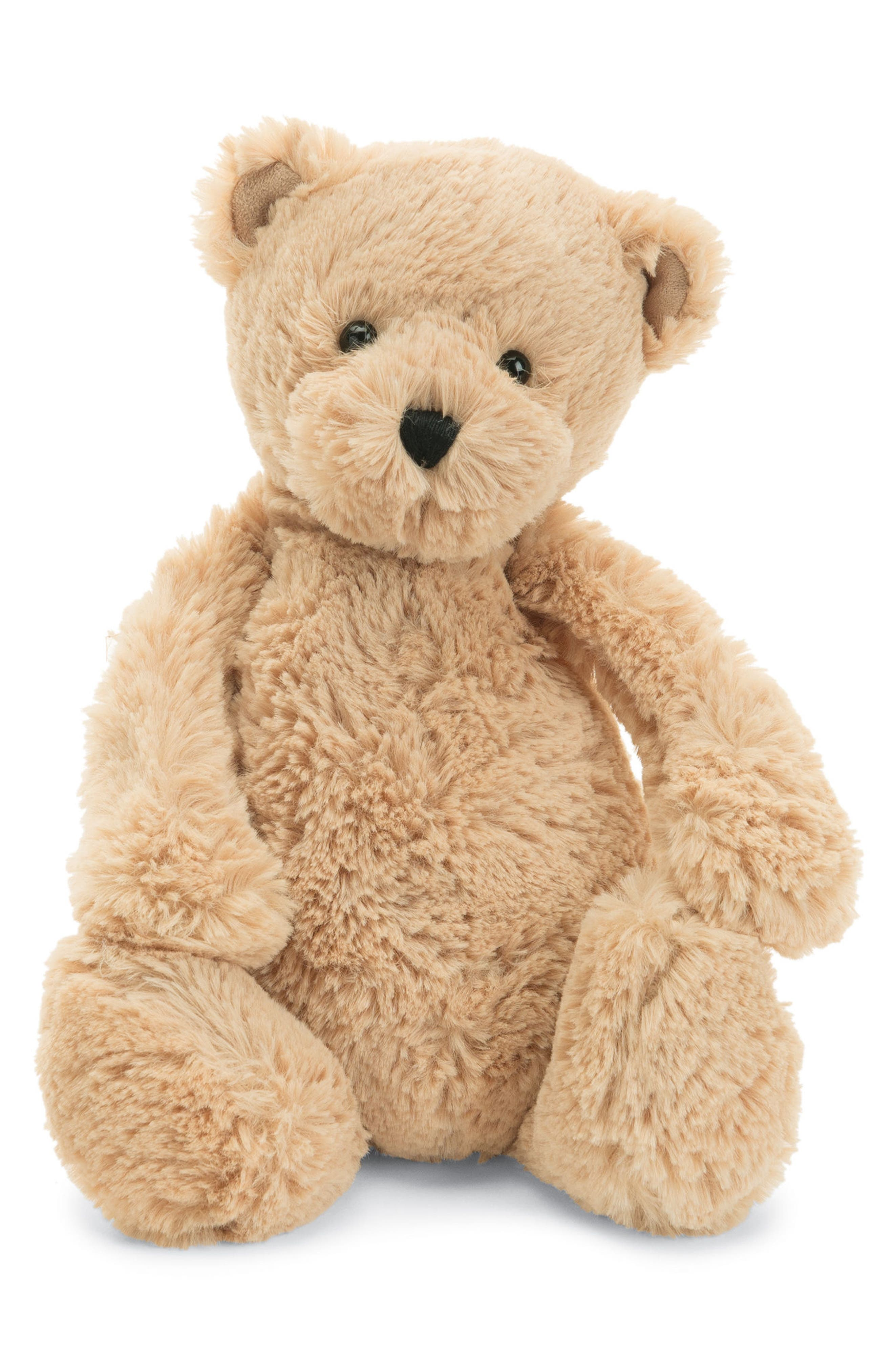 'Bashful Honey Bear' Stuffed Animal,                         Main,                         color, Tan