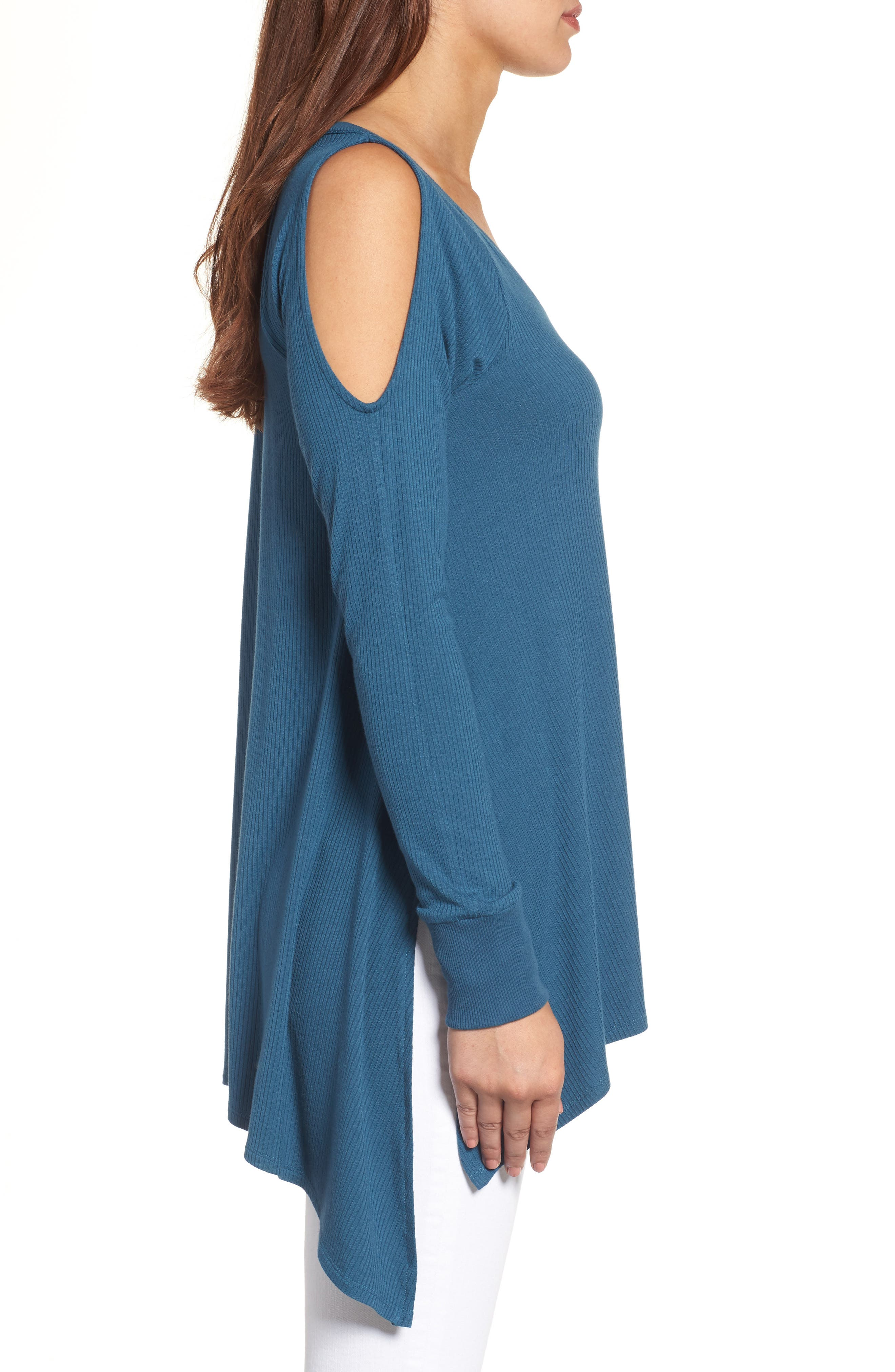 Alternate Image 3  - Caslon® Cold Shoulder Tunic