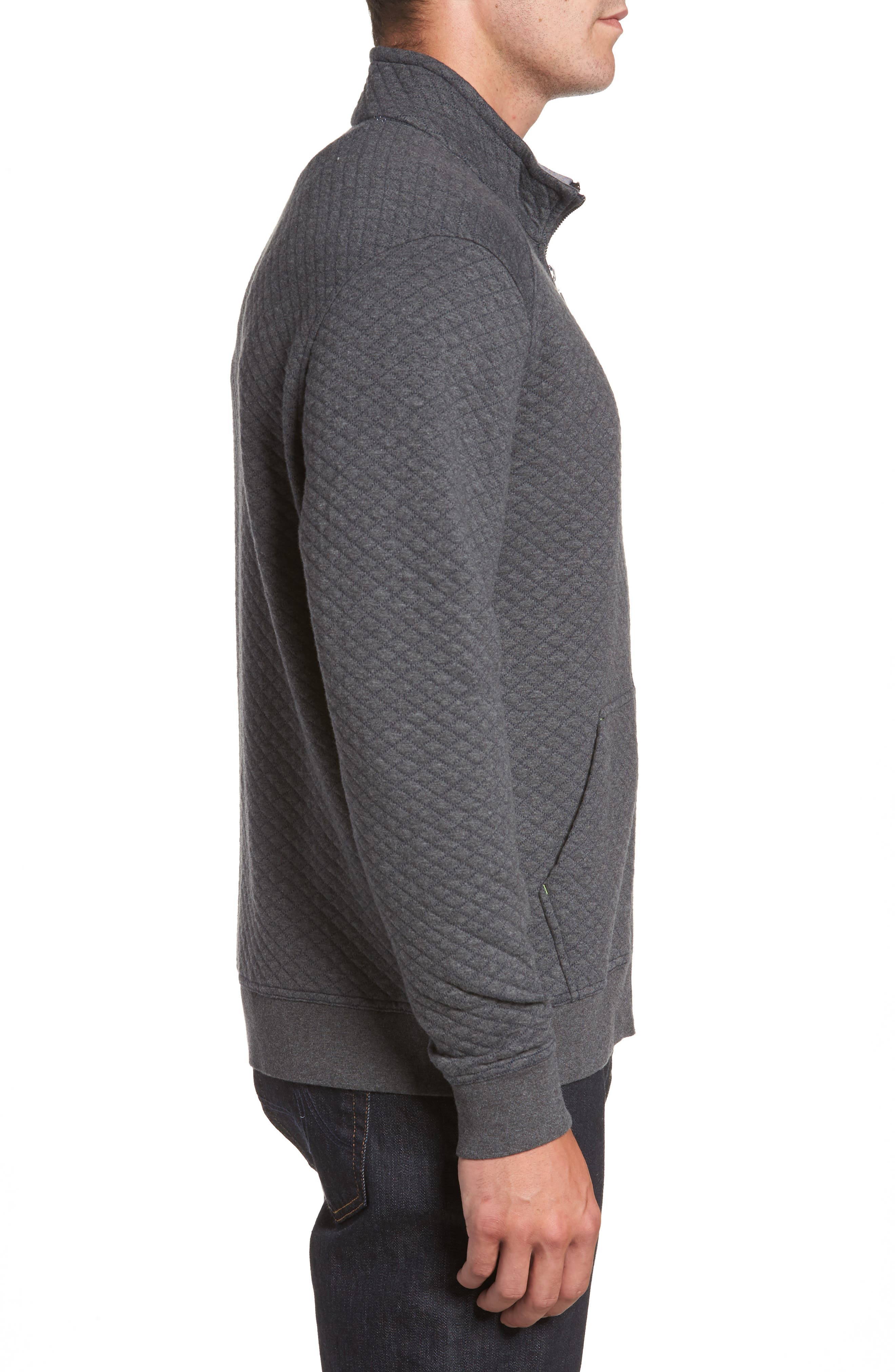 Alternate Image 3  - Tommy Bahama NFL Quiltessential Full Zip Sweatshirt