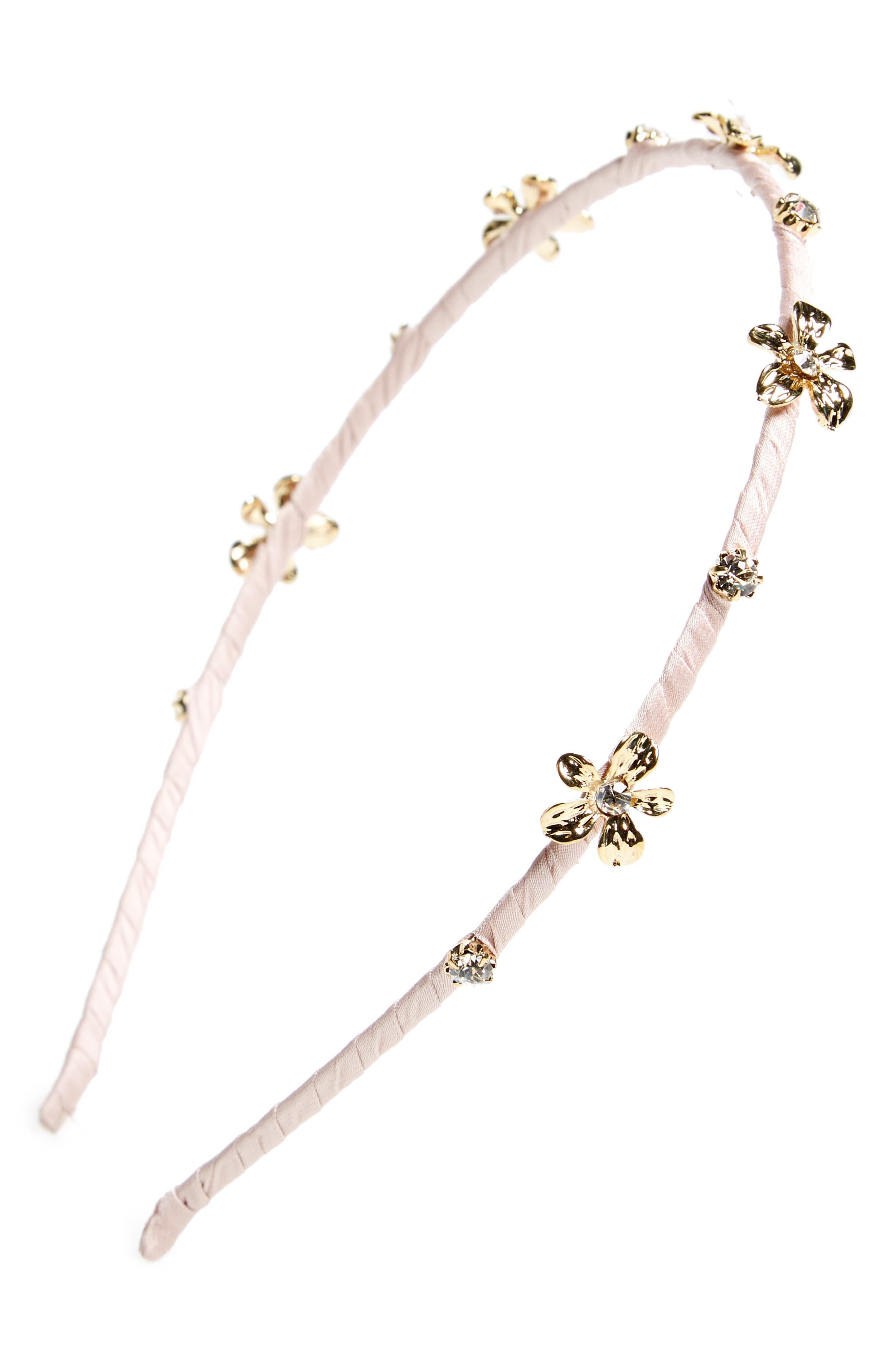 Cara Crystal Daisy Headband