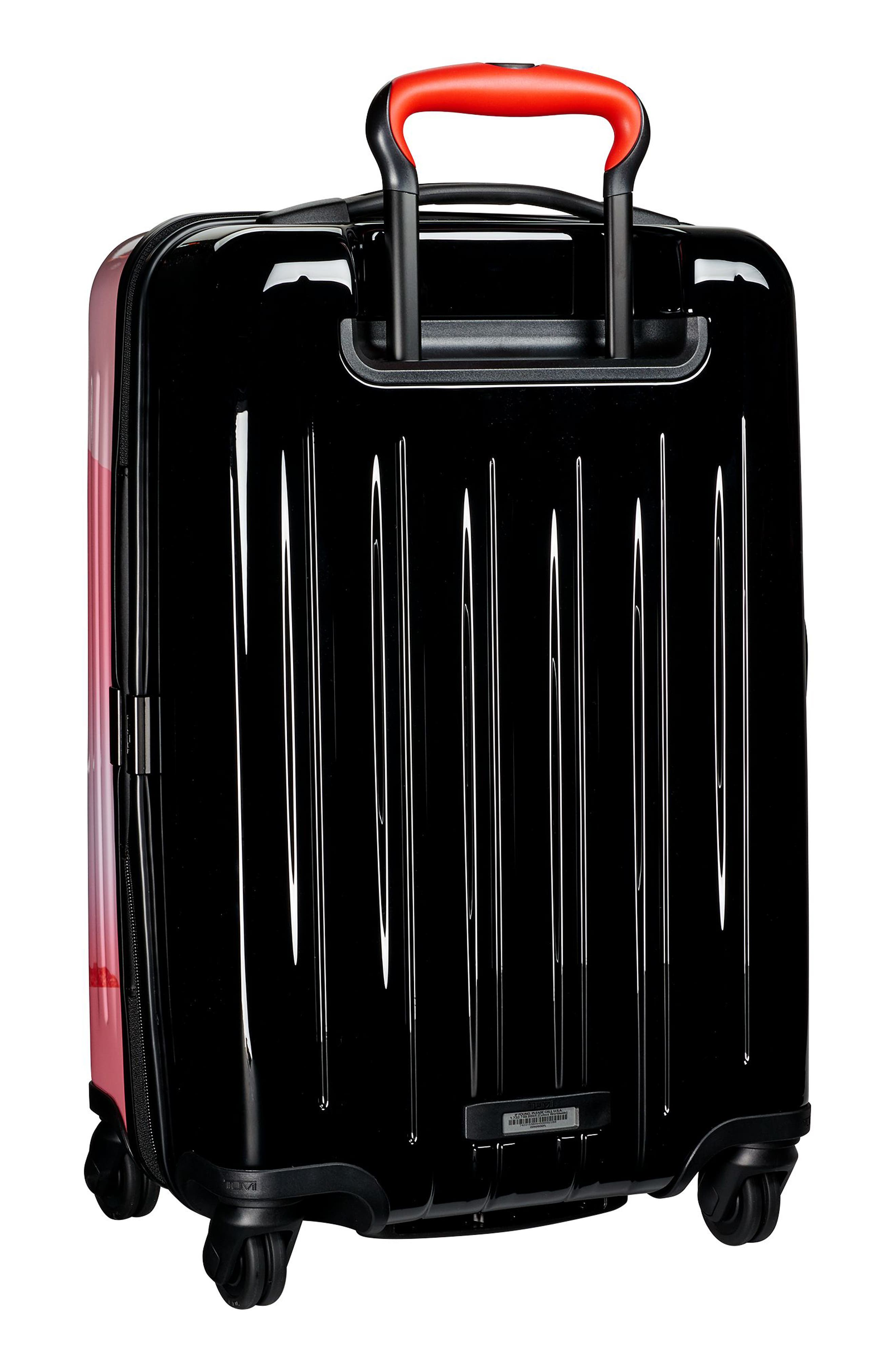 V3 International 22-Inch Expandable Wheeled Carry-On,                             Alternate thumbnail 4, color,                             Gallery Floral
