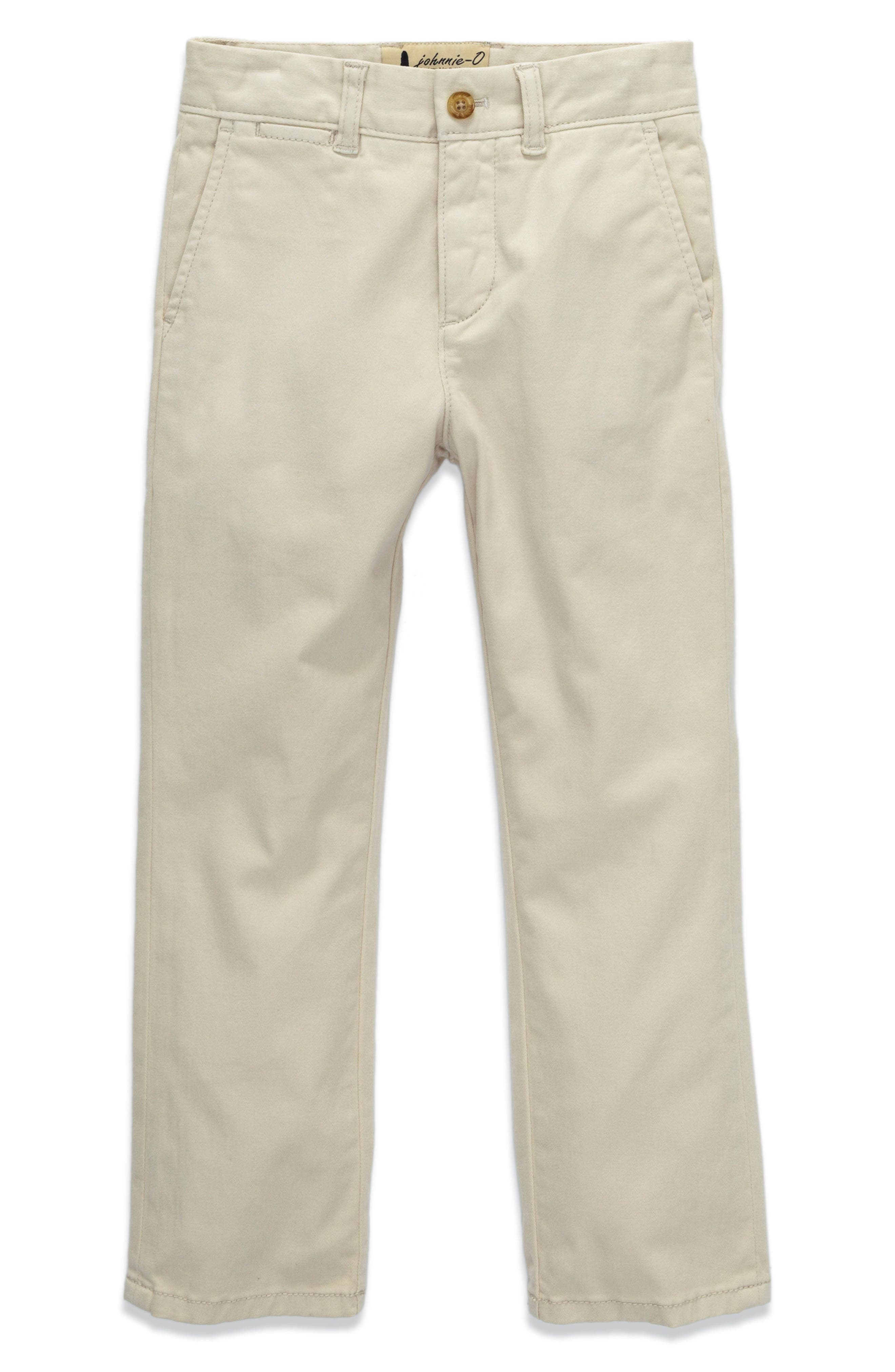Alternate Image 1 Selected - johnnie-O Napa Stretch Chinos (Little Boys)