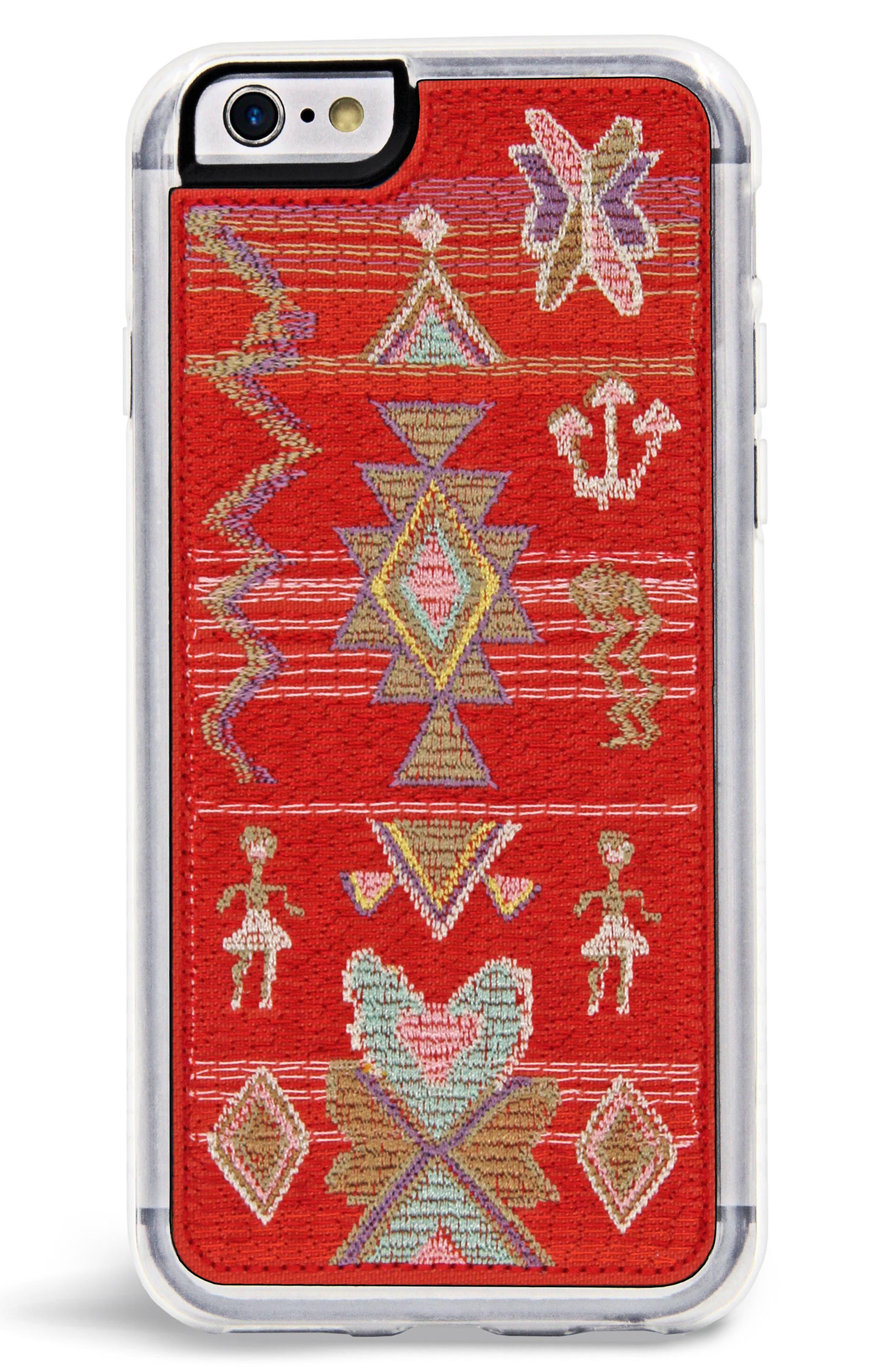 x Rocky Barnes Sahara iPhone 6/6s/7/8 & 6/6s/7/8 Plus Case,                         Main,                         color, Red